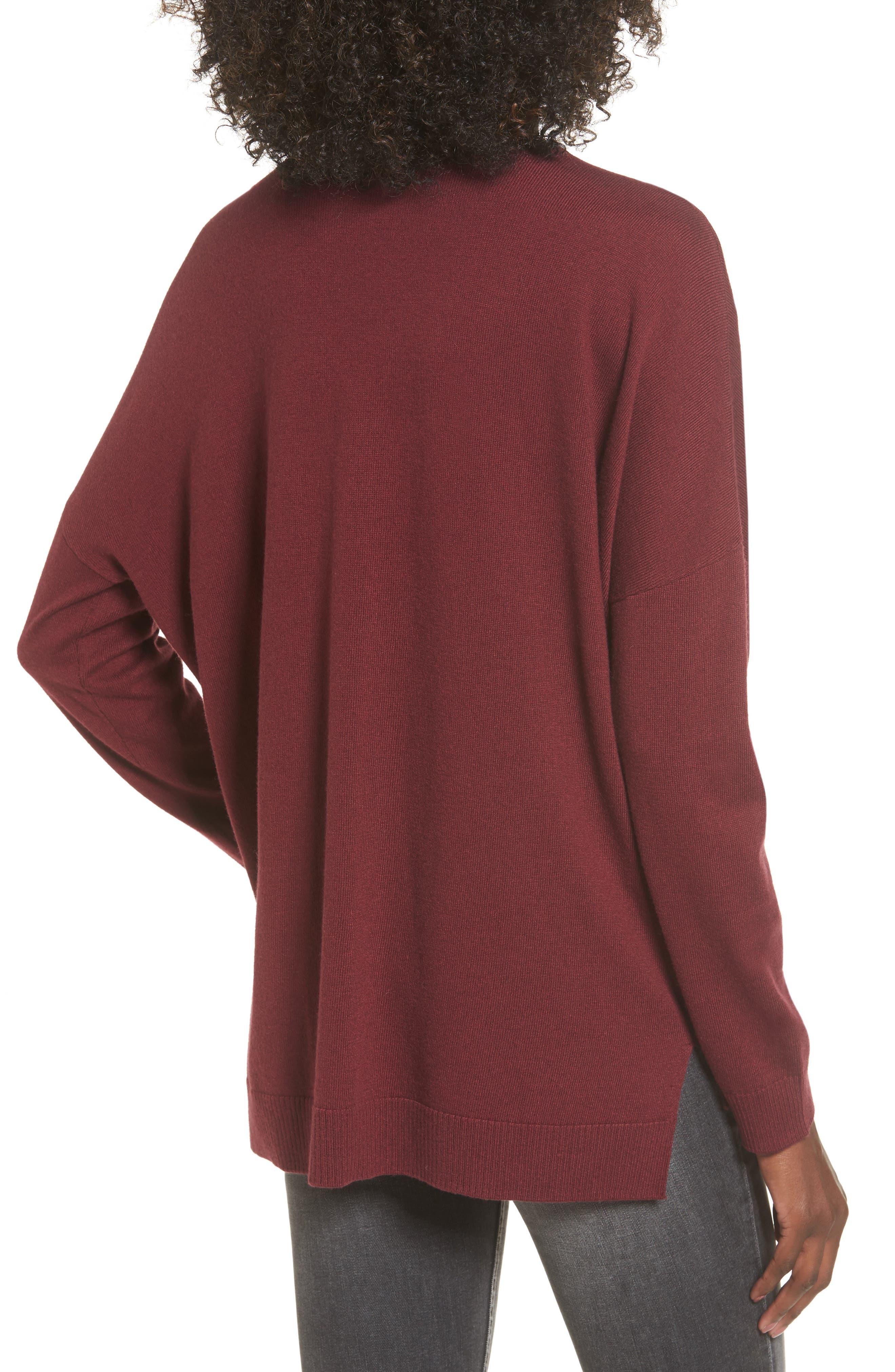 V-Neck Sweater,                             Alternate thumbnail 2, color,                             601