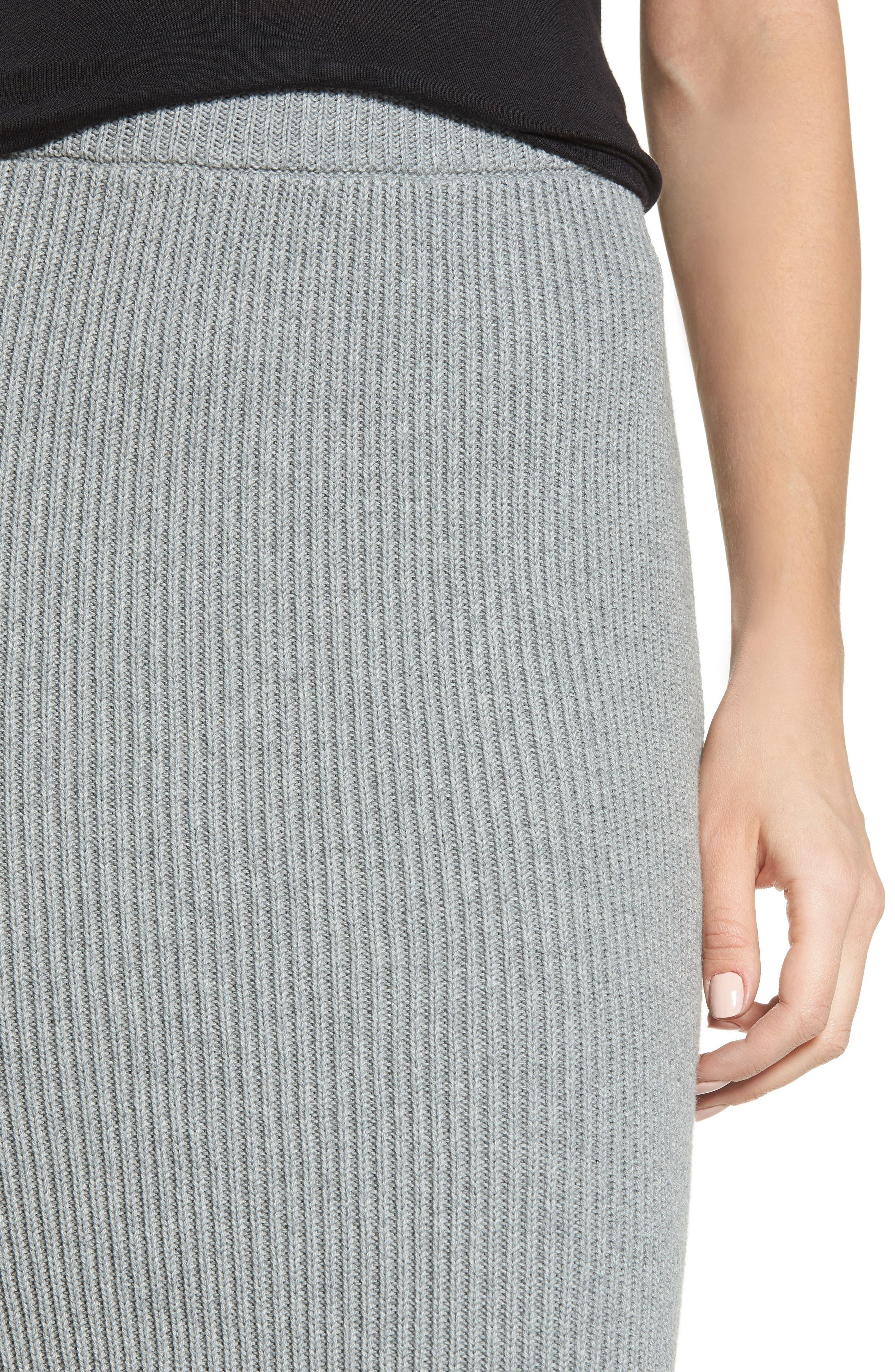 Galactic Knit Skirt,                             Alternate thumbnail 4, color,                             051