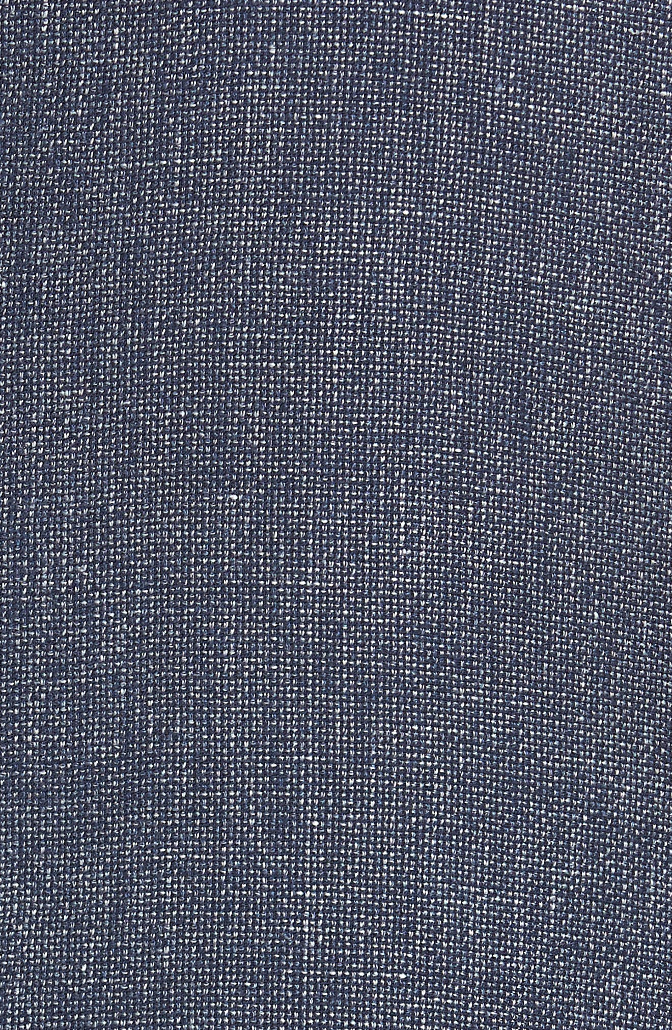 Traditional Fit Mélange Wool & Linen Sport Coat,                             Alternate thumbnail 6, color,