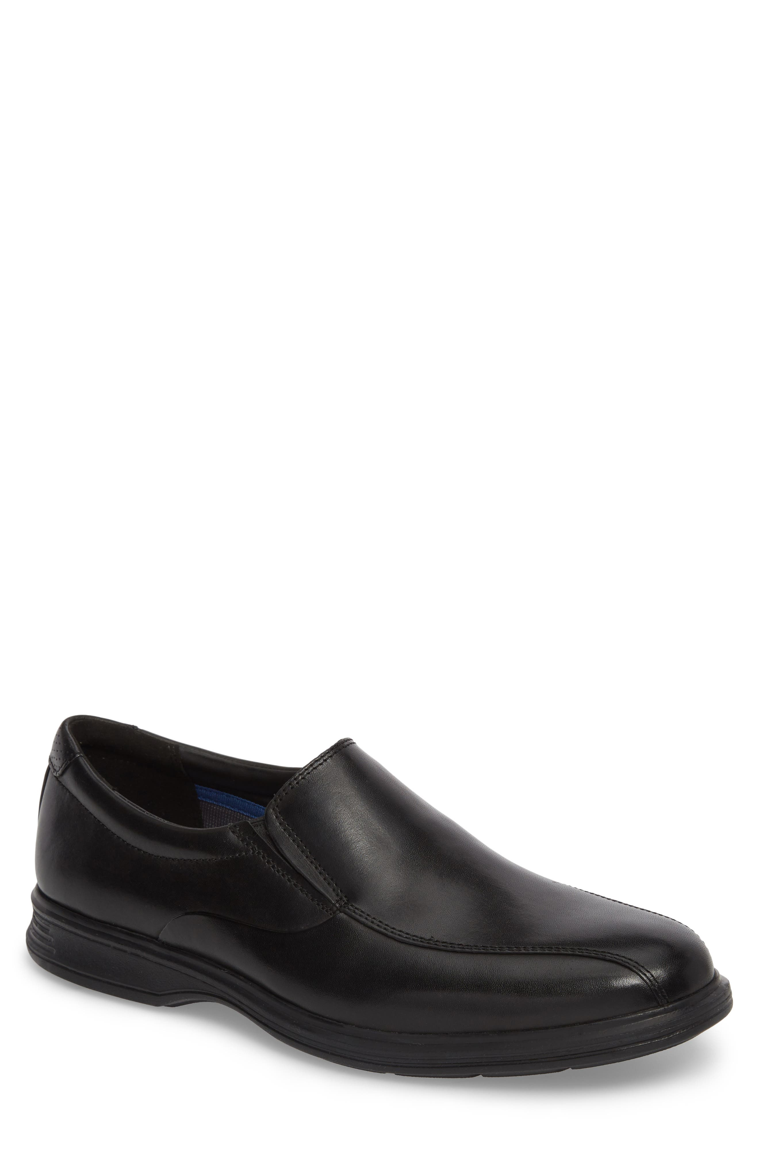 Dressports 2 Lite Venetian Loafer,                             Main thumbnail 1, color,                             BLACK LEATHER