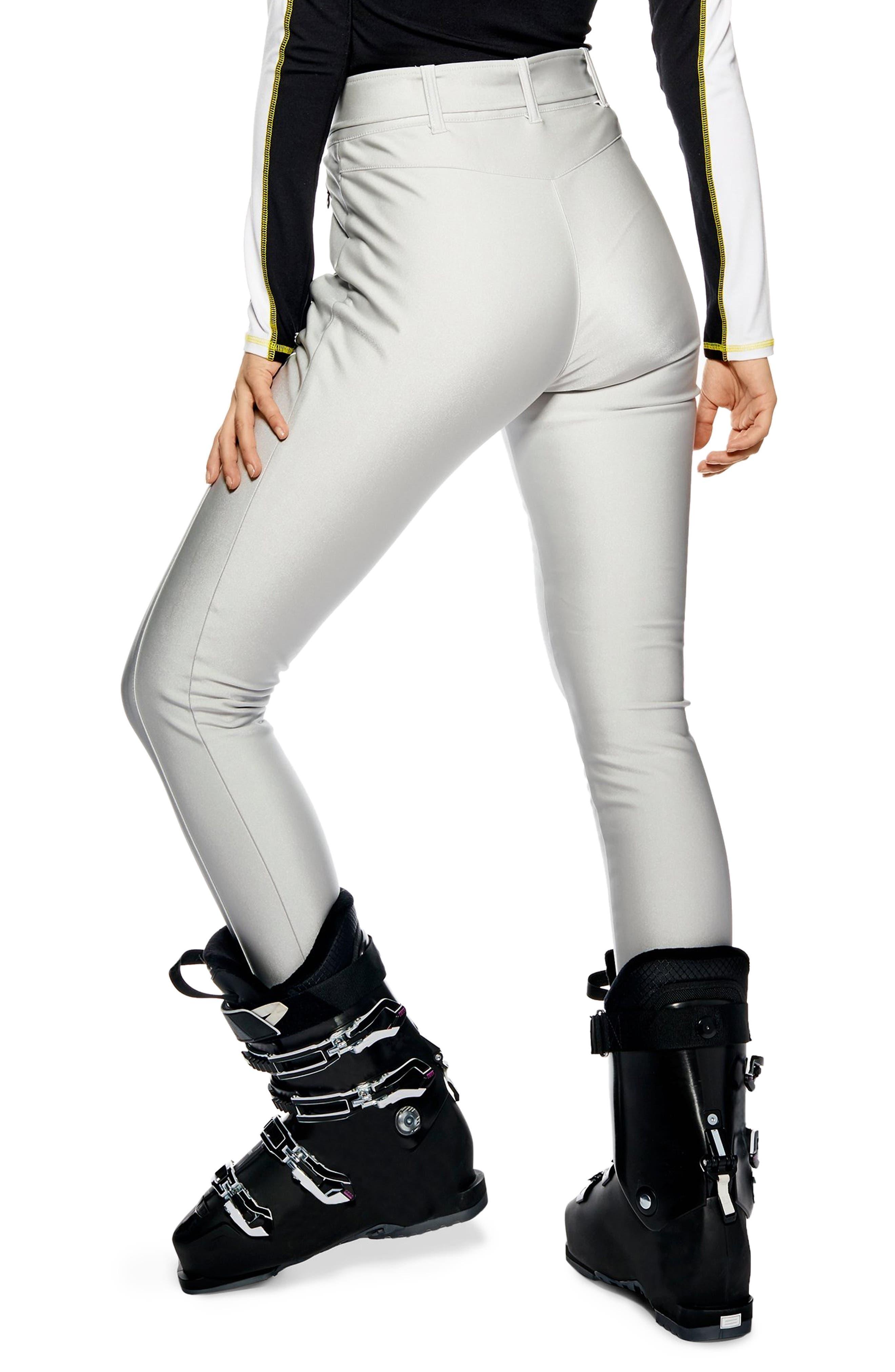 Sno Metallic Alanis Trousers,                             Alternate thumbnail 2, color,                             SILVER MULTI