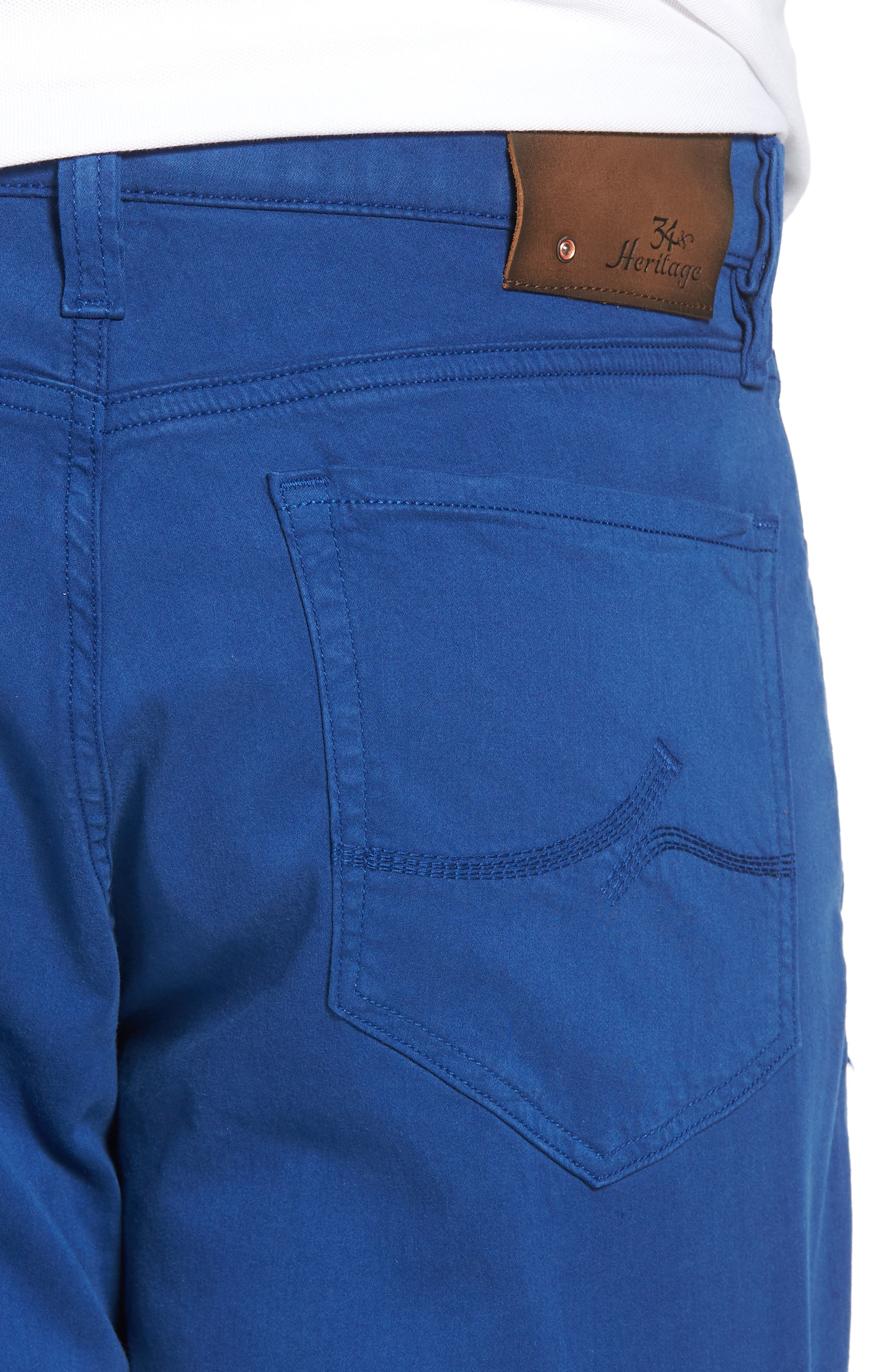 Charisma Relaxed Fit Jeans,                             Alternate thumbnail 4, color,                             ROYAL TWILL
