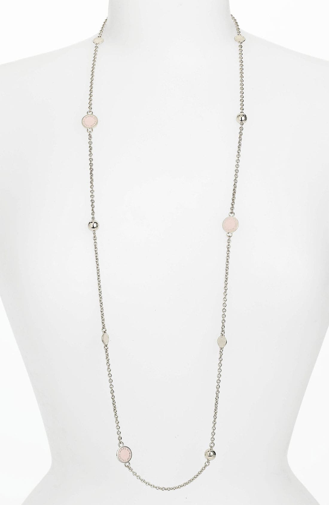 'Classic Marc' Long Necklace,                             Main thumbnail 13, color,