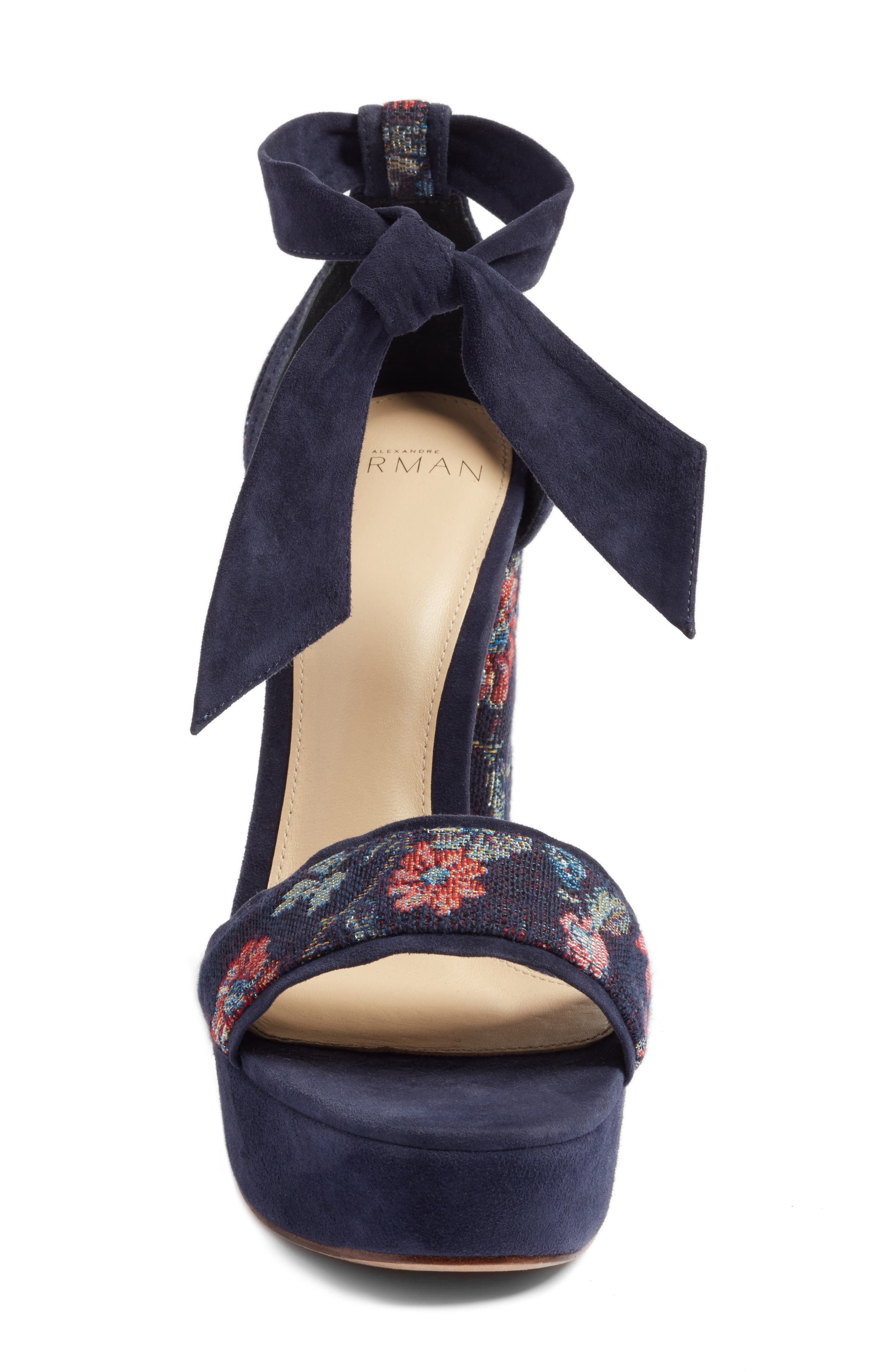 Celine Platform Sandal,                             Alternate thumbnail 7, color,