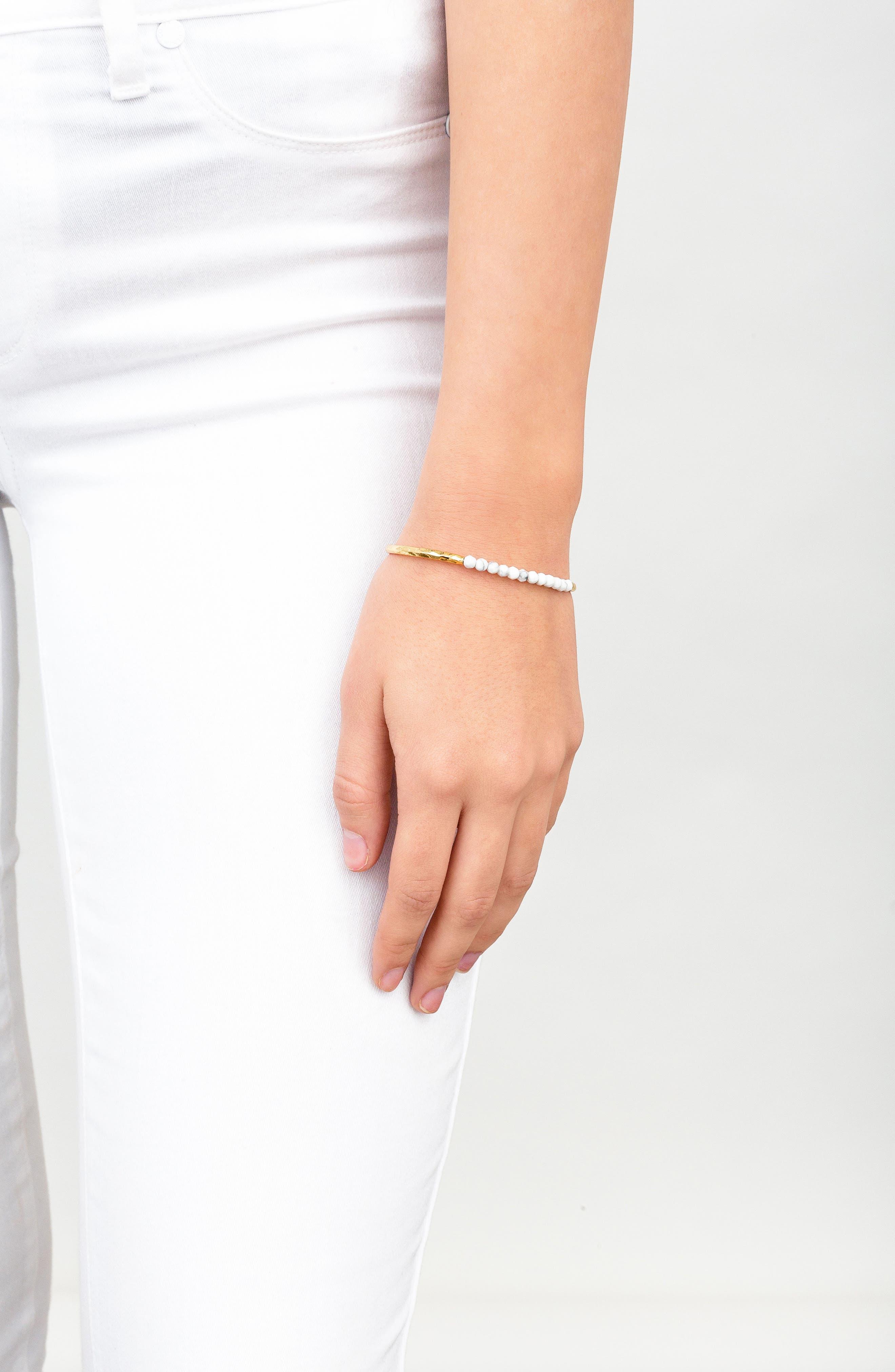 Power Stone Semiprecious Beaded Bracelet,                             Alternate thumbnail 23, color,