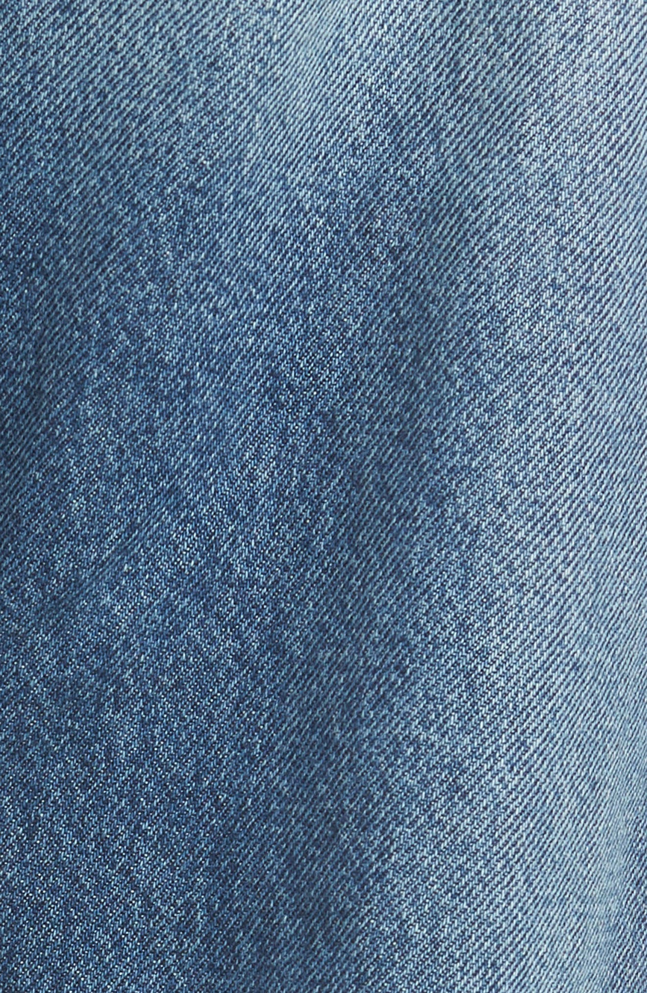 Calvin Klein Straight Leg Jeans,                             Alternate thumbnail 5, color,                             400