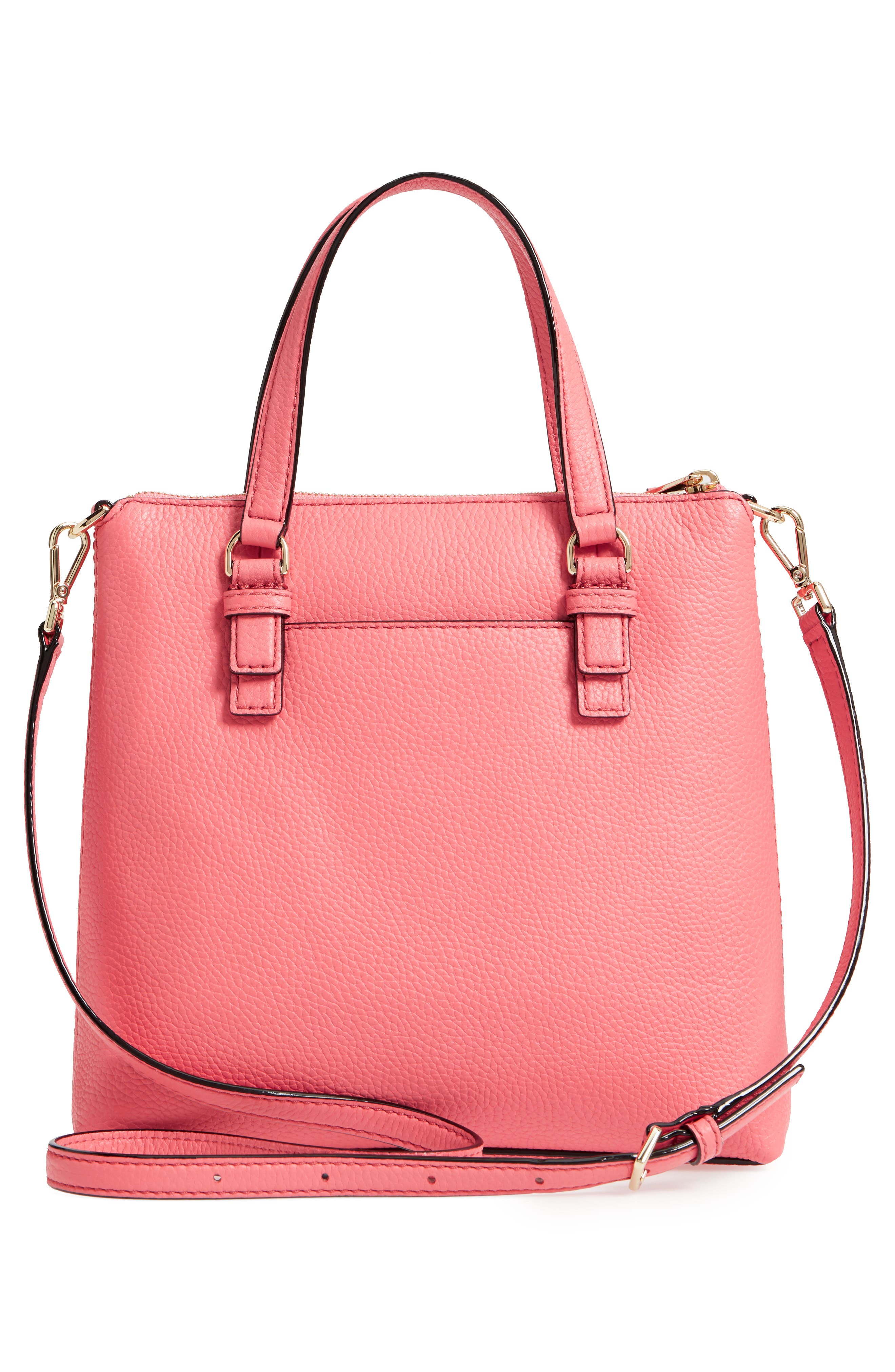 jackson street - hayley leather satchel,                             Alternate thumbnail 3, color,                             897