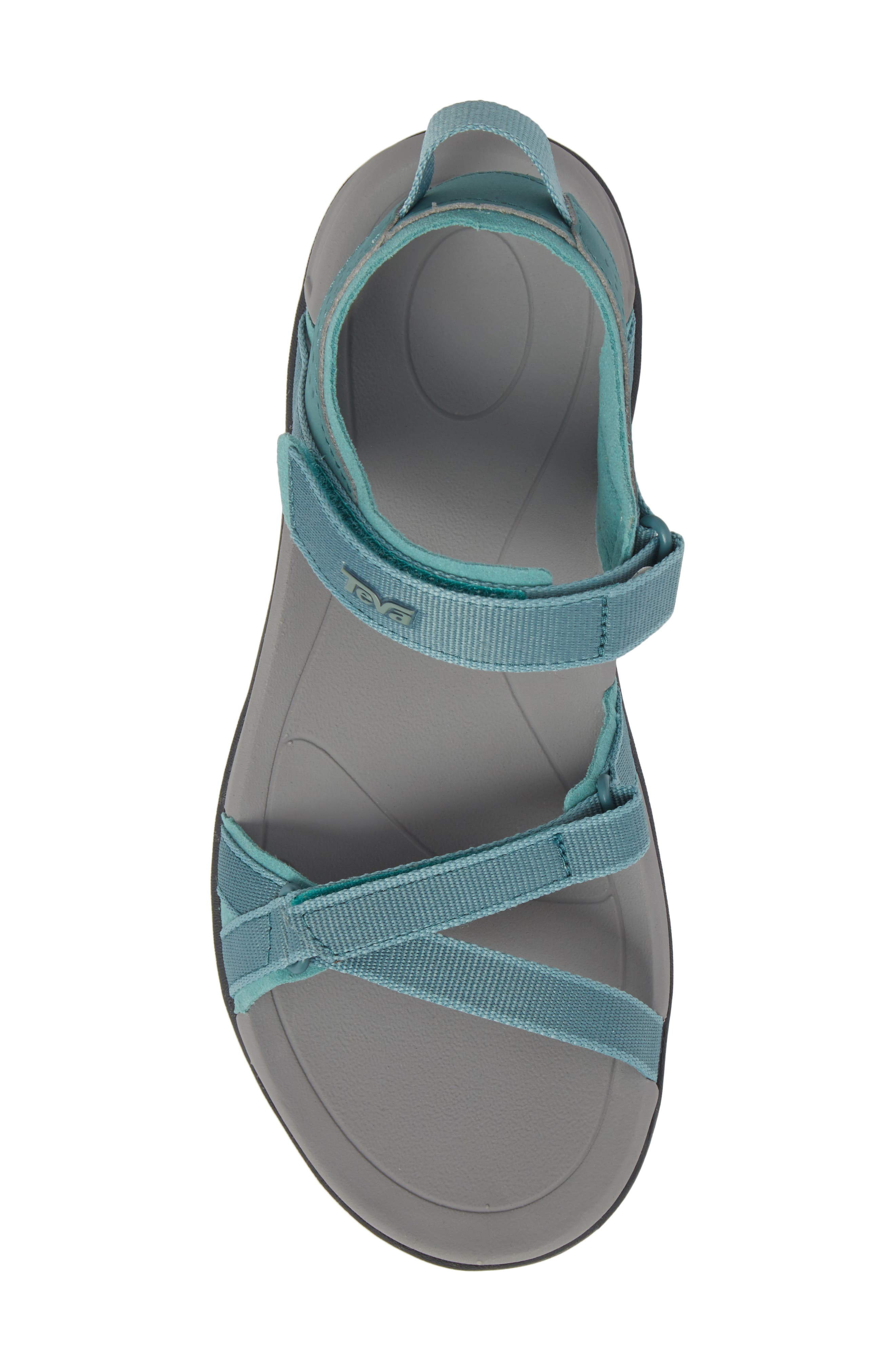 'Verra' Sandal,                             Alternate thumbnail 5, color,                             NORTH ATLANTIC