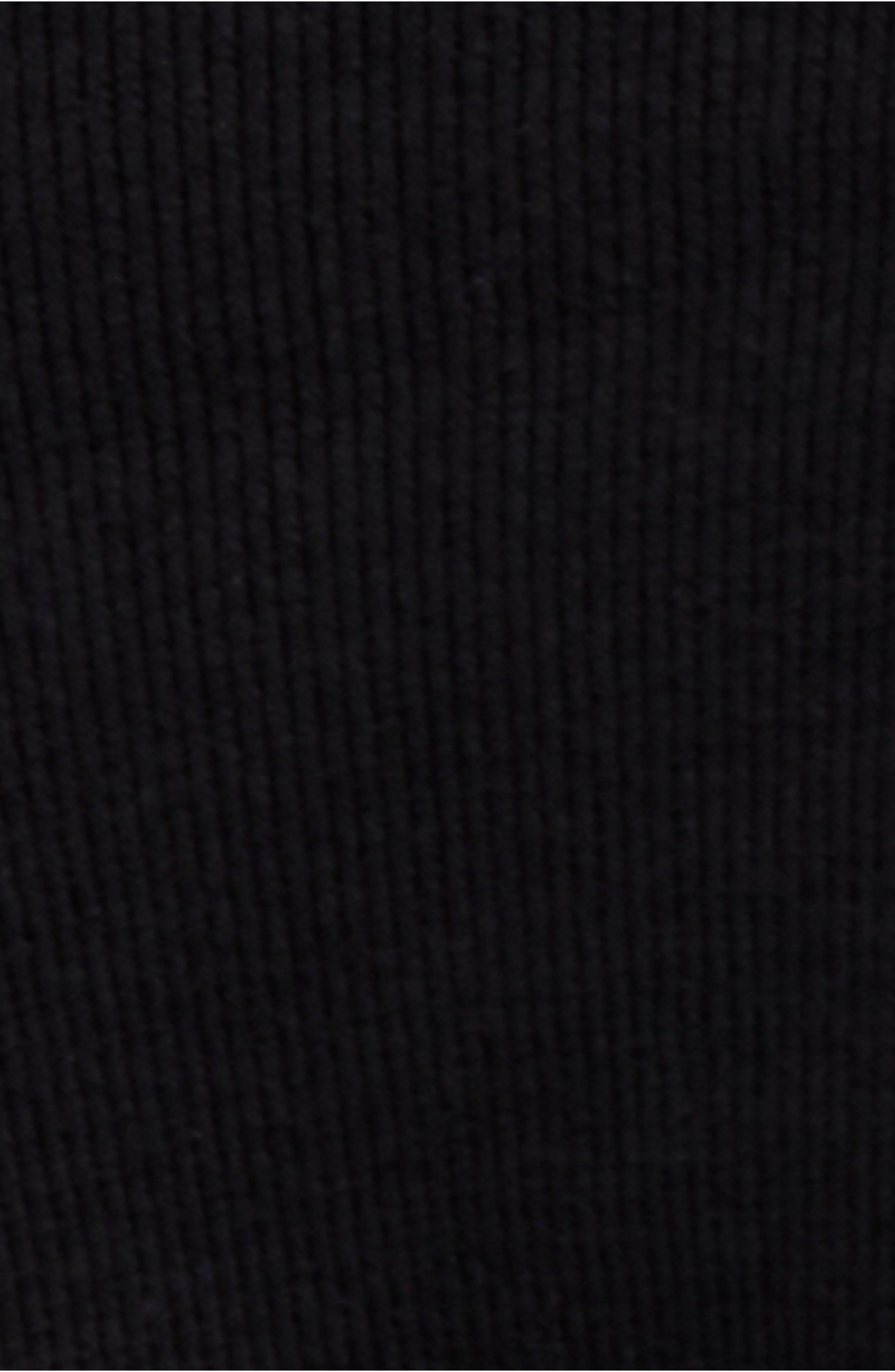 Daniella Lace Top,                             Alternate thumbnail 5, color,                             BLACK