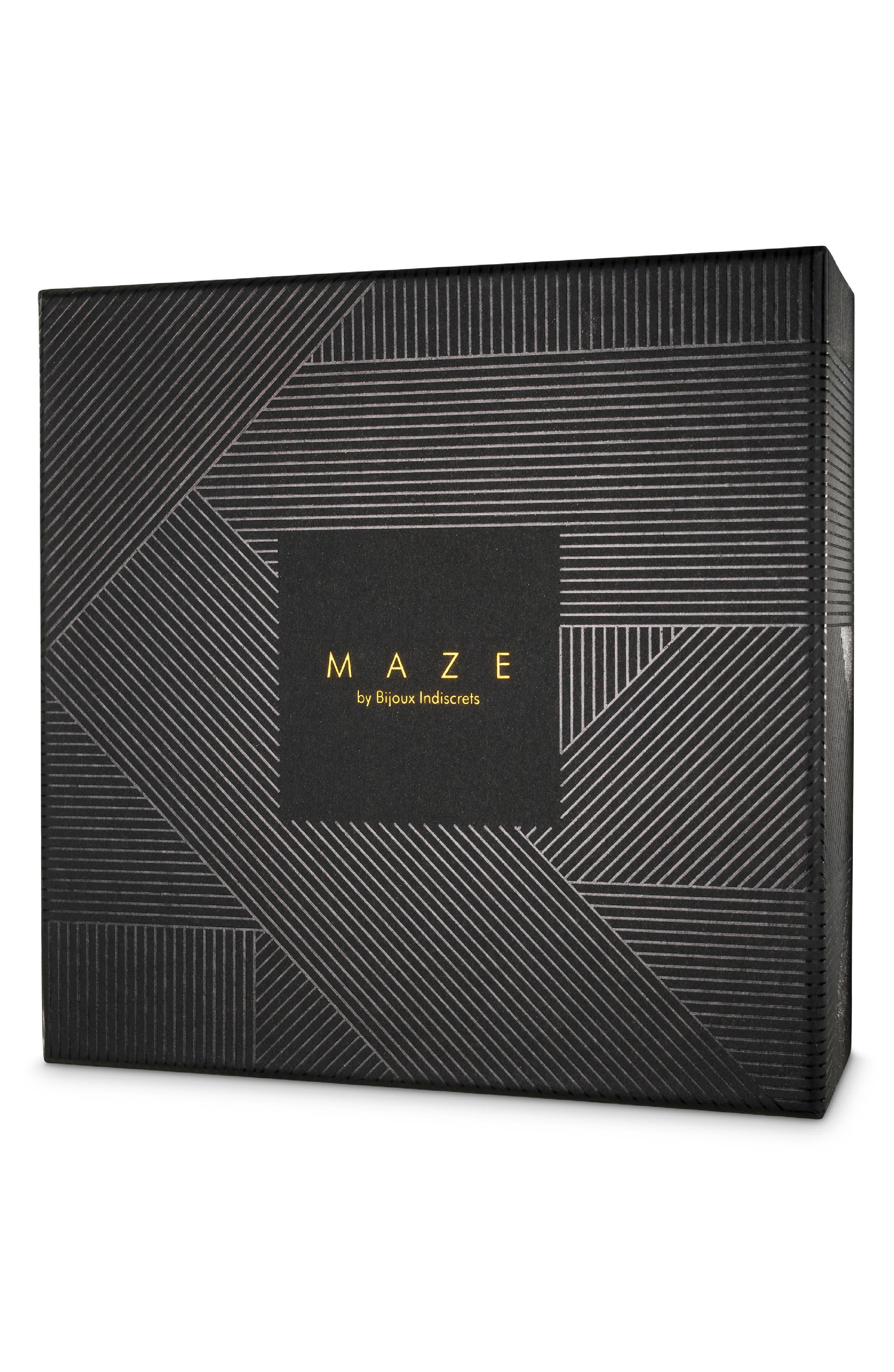 Maze Cross Chest Harness,                             Alternate thumbnail 2, color,                             BLACK