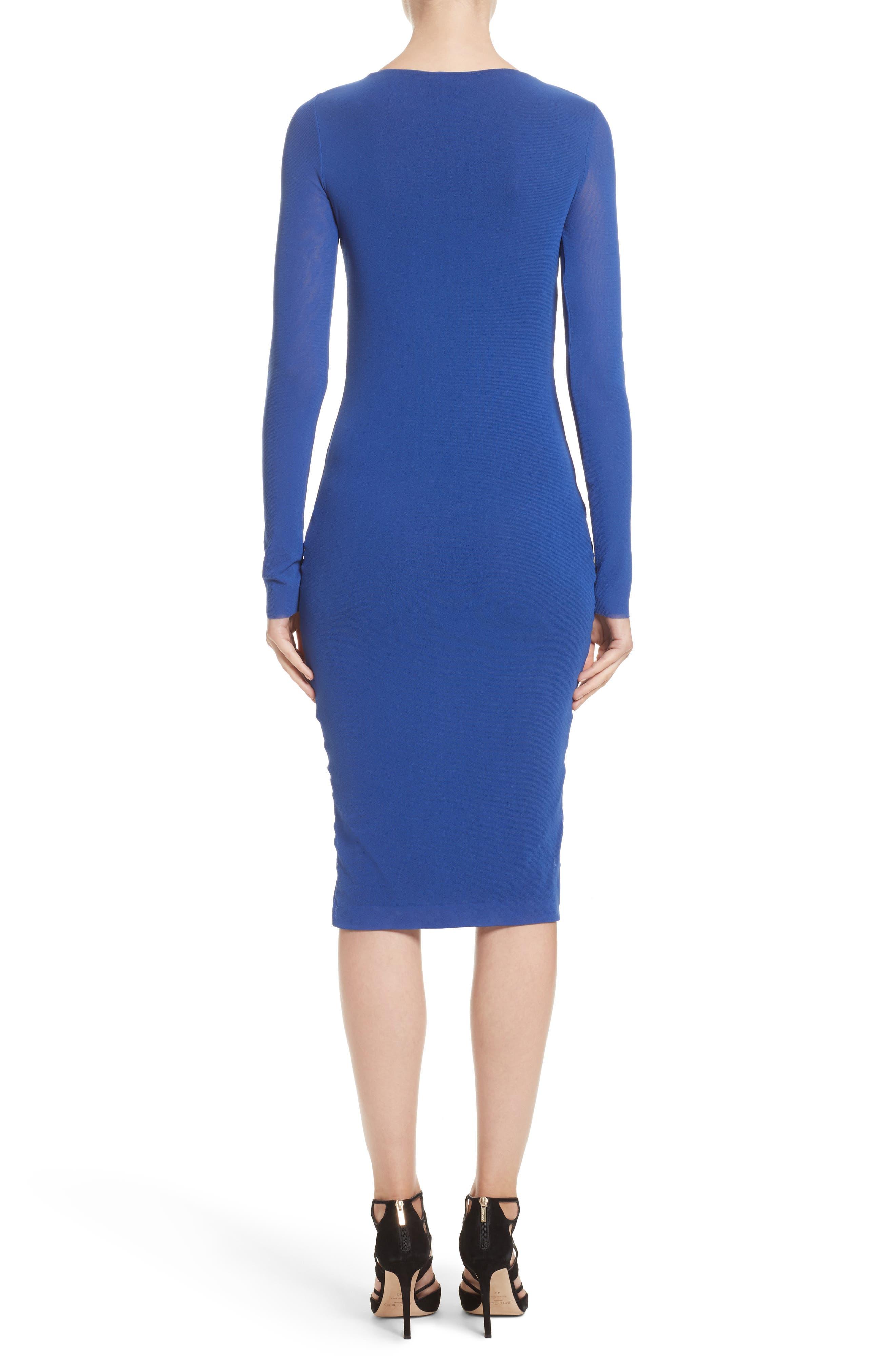 Cutout Tulle Dress,                             Alternate thumbnail 2, color,                             422