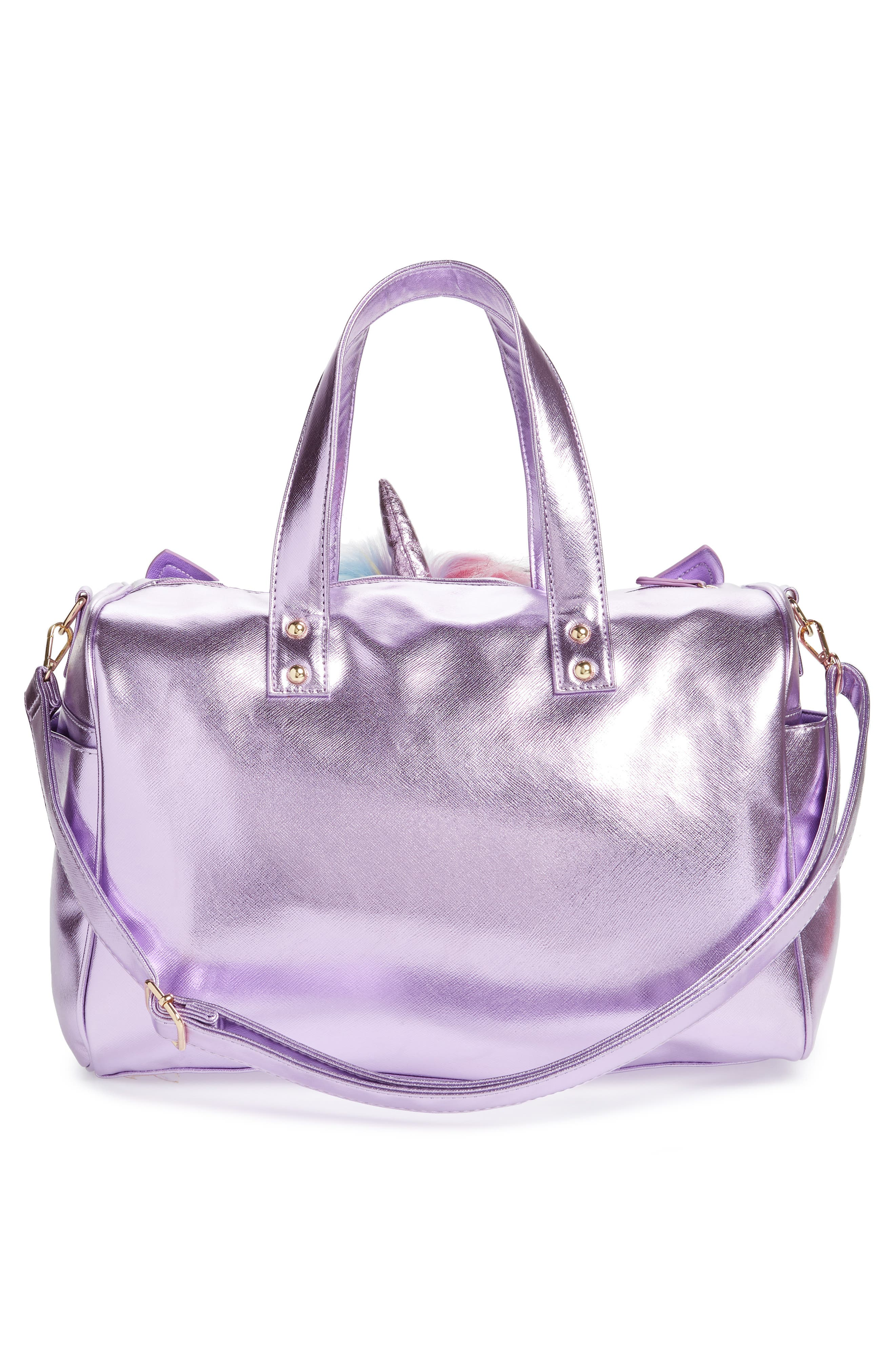 Duffel Bag,                             Alternate thumbnail 2, color,                             PURPLE
