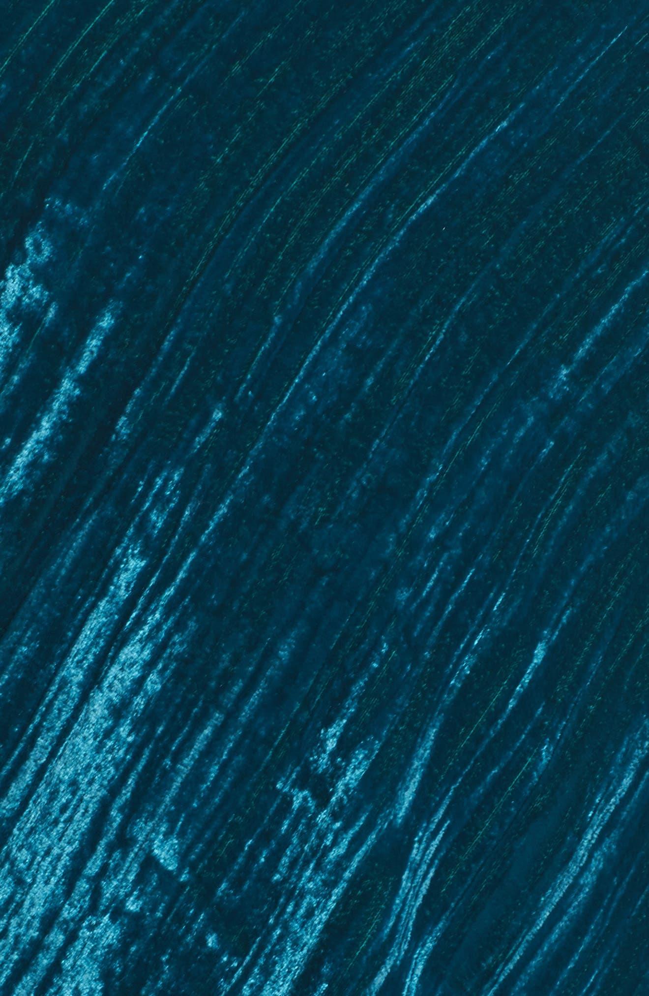 Velvet Slipdress,                             Alternate thumbnail 5, color,