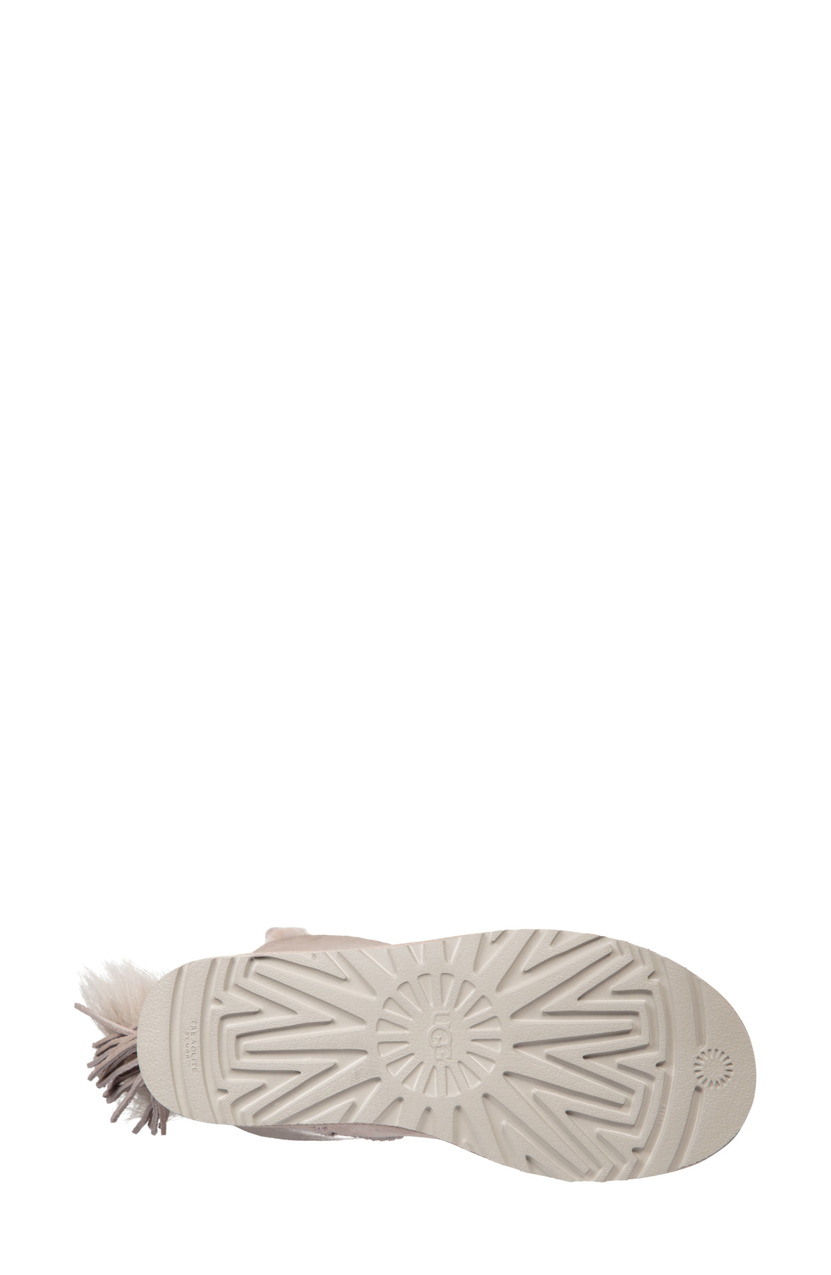 Classic Charm Bootie,                             Alternate thumbnail 5, color,                             WILLOW SUEDE