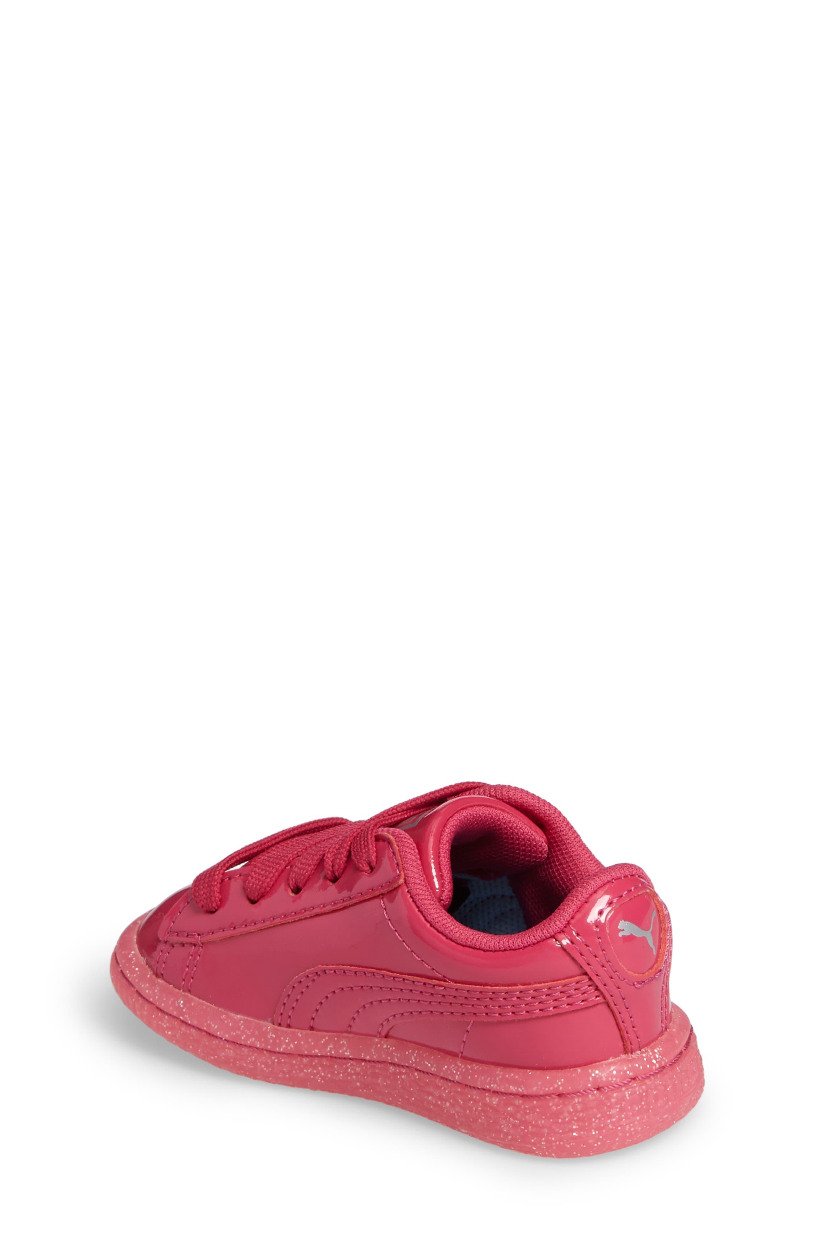 Basket Iced Glitter Sneaker,                             Alternate thumbnail 2, color,                             505