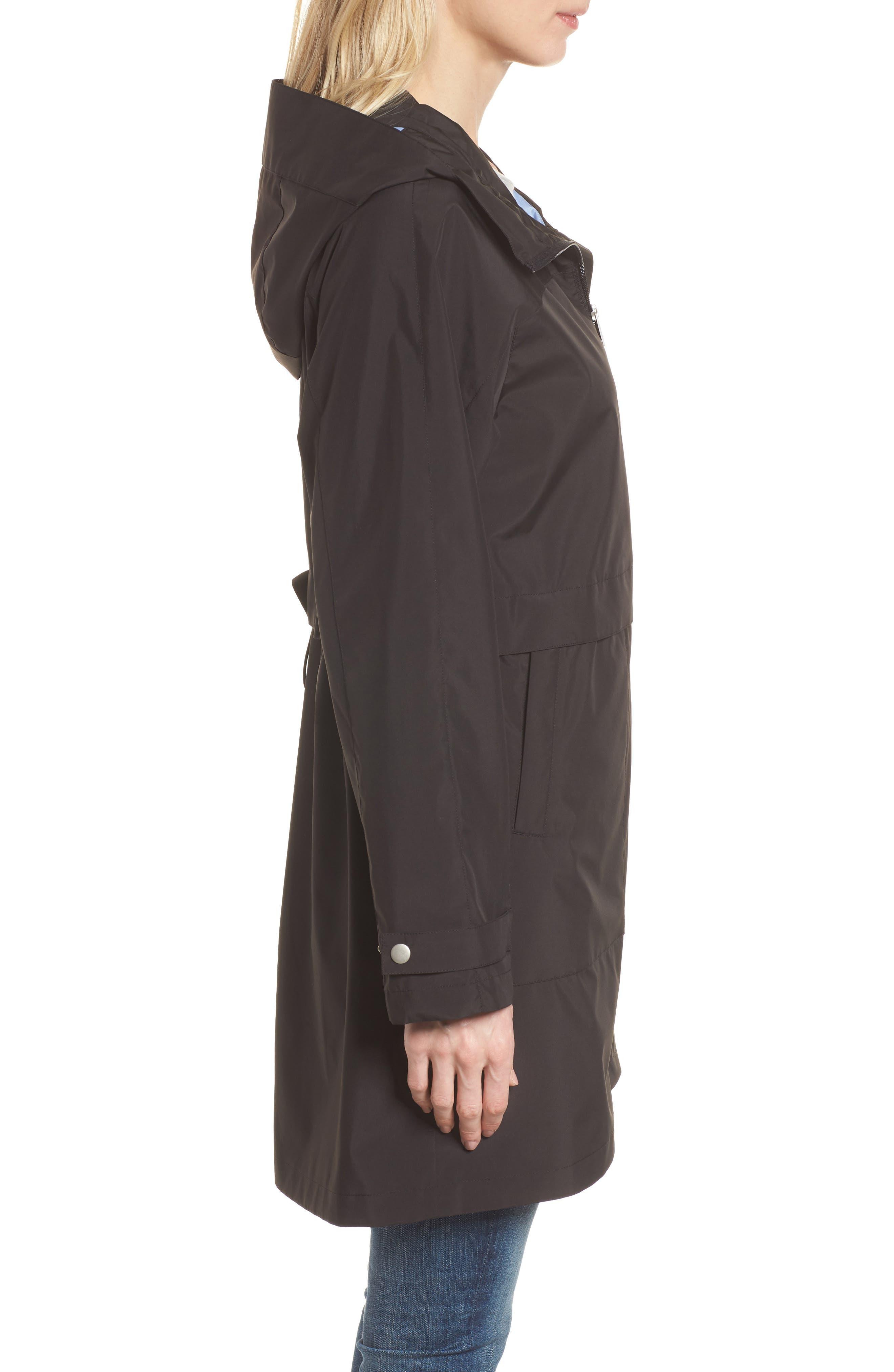 Pearl Cloth Hooded Jacket,                             Alternate thumbnail 6, color,