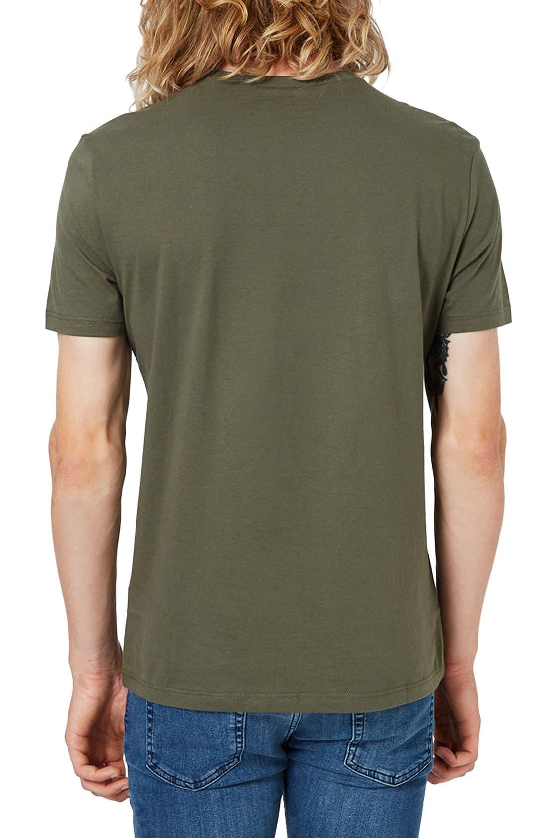 Slim Fit Crewneck T-Shirt,                             Alternate thumbnail 428, color,