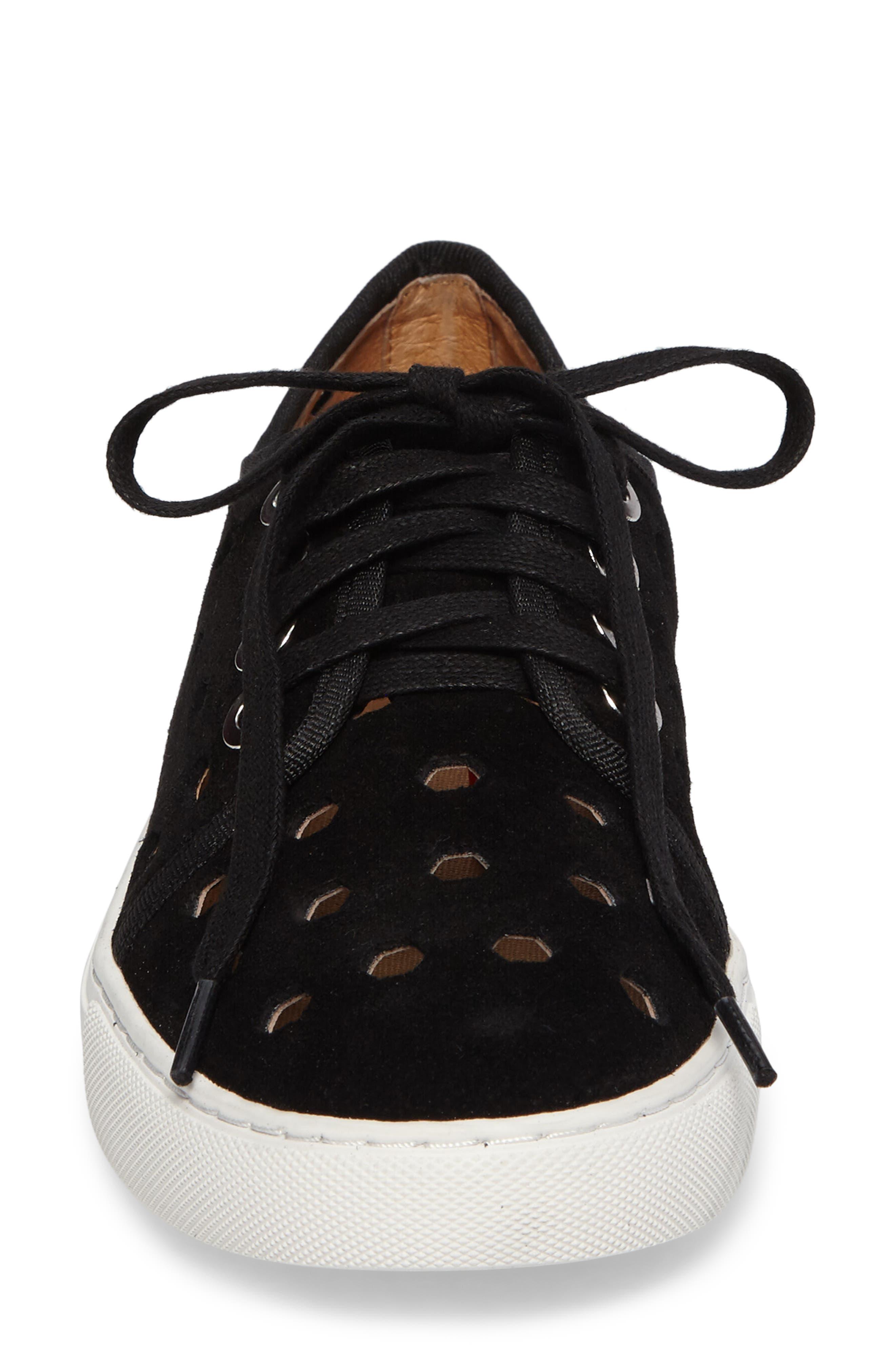 Rasta Perforated Sneaker,                             Alternate thumbnail 10, color,