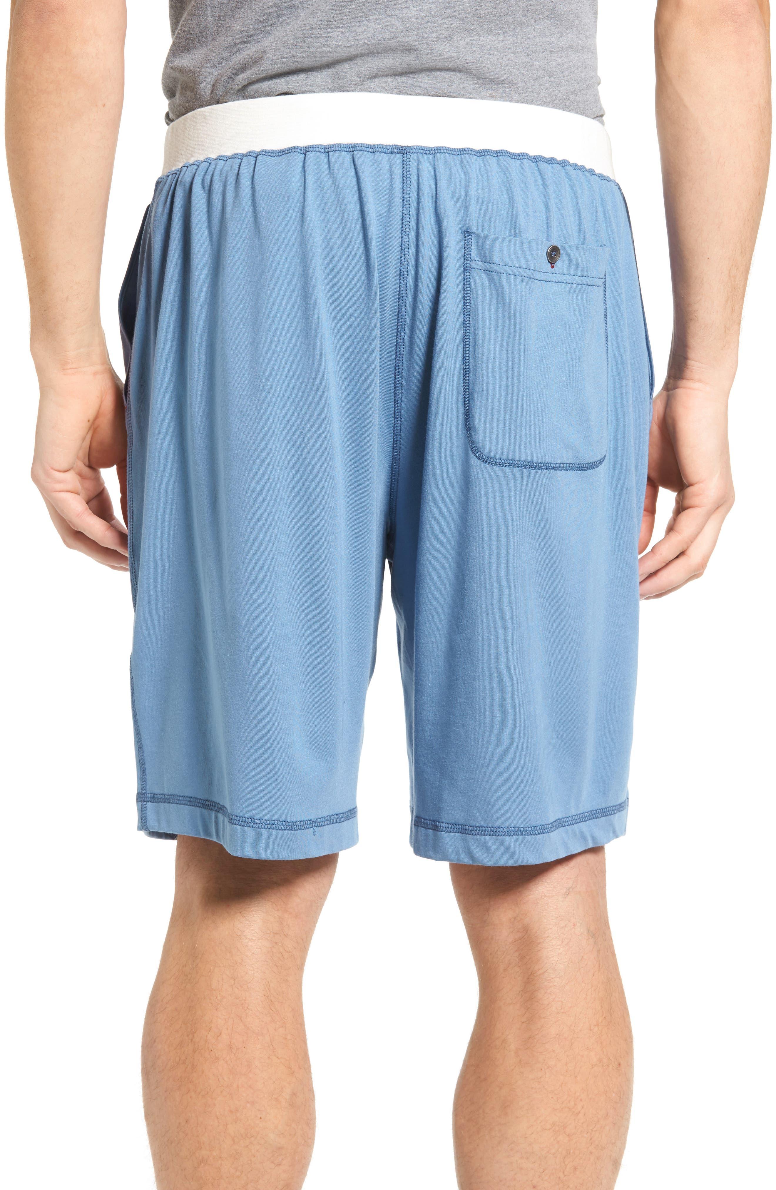 Pima Cotton & Modal Lounge Shorts,                             Alternate thumbnail 2, color,                             400