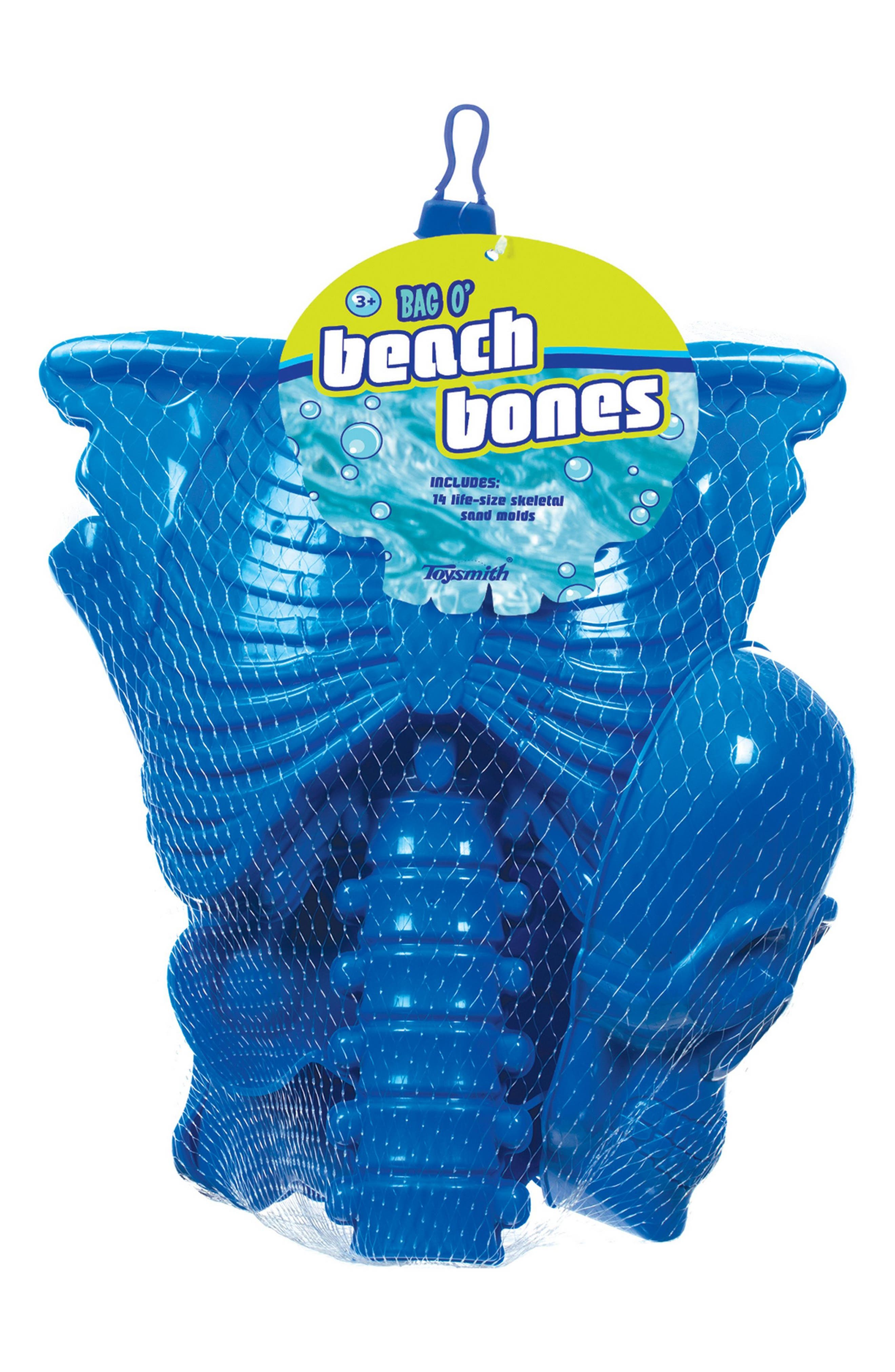 Bag O' Beach Bones Beach Toy Kit,                             Main thumbnail 1, color,                             400