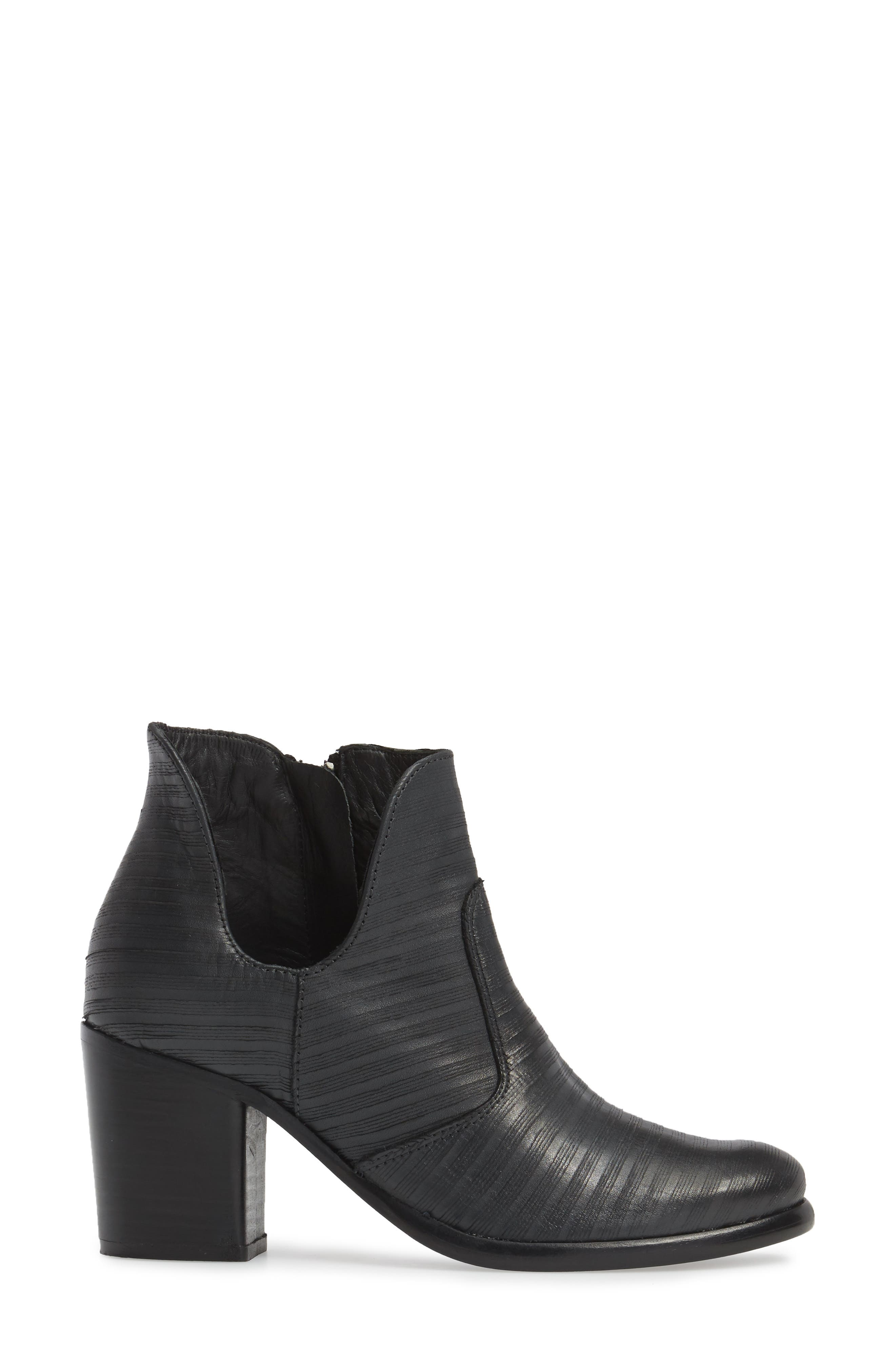 Blurred Lines Bootie,                             Alternate thumbnail 3, color,                             001