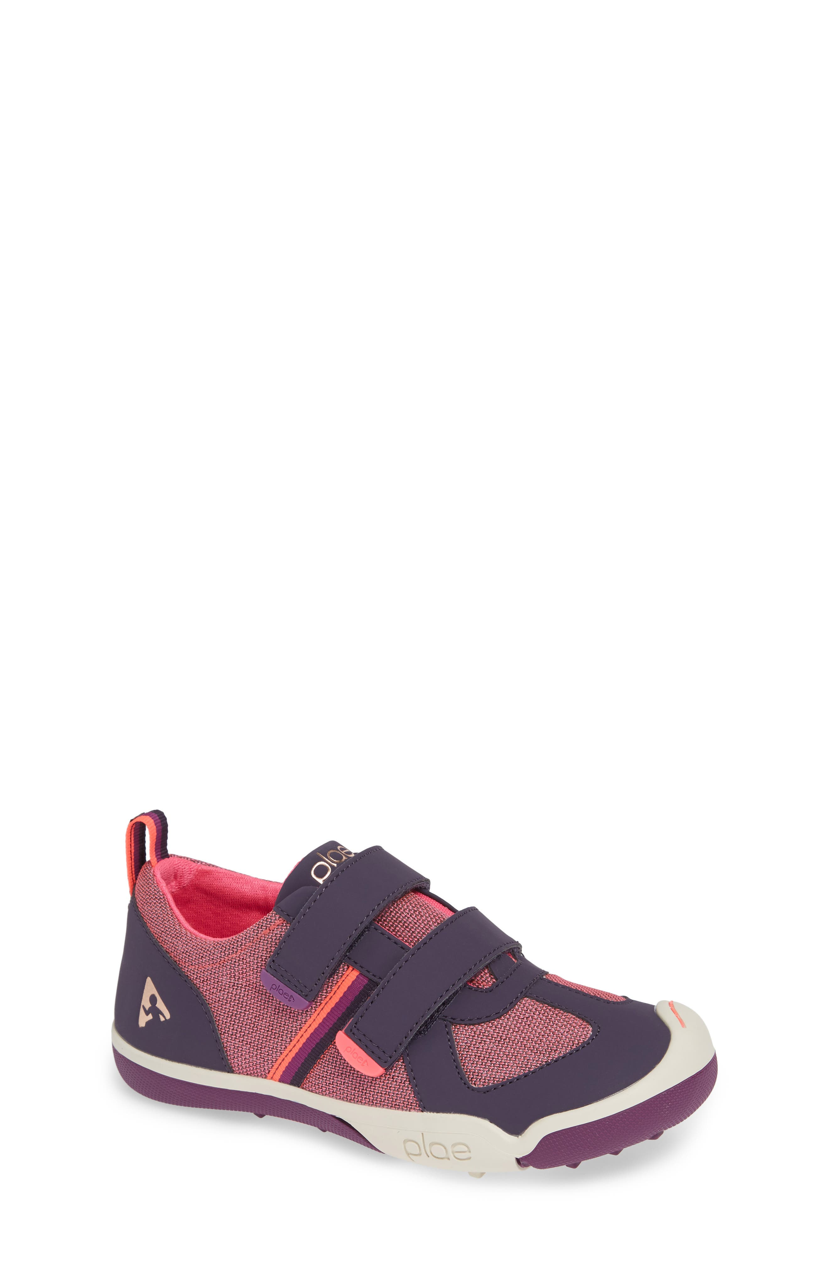Charlie Customizable Waterproof Sneaker,                             Main thumbnail 1, color,                             MYSTIC BERRY