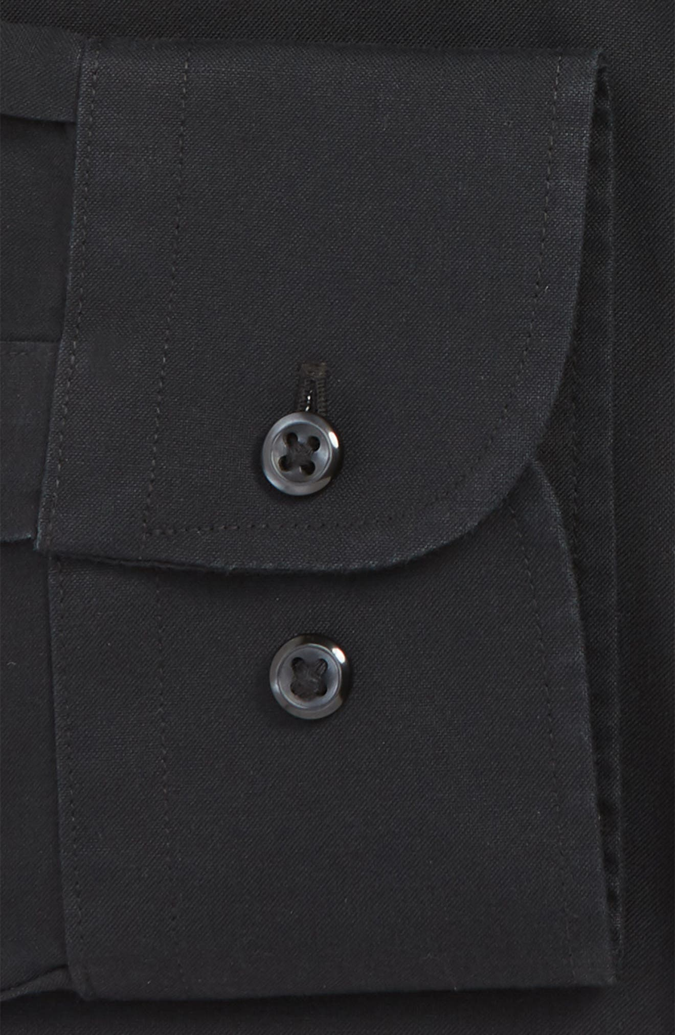 Smartcare<sup>™</sup> Traditional Fit Dress Shirt,                             Alternate thumbnail 2, color,                             BLACK