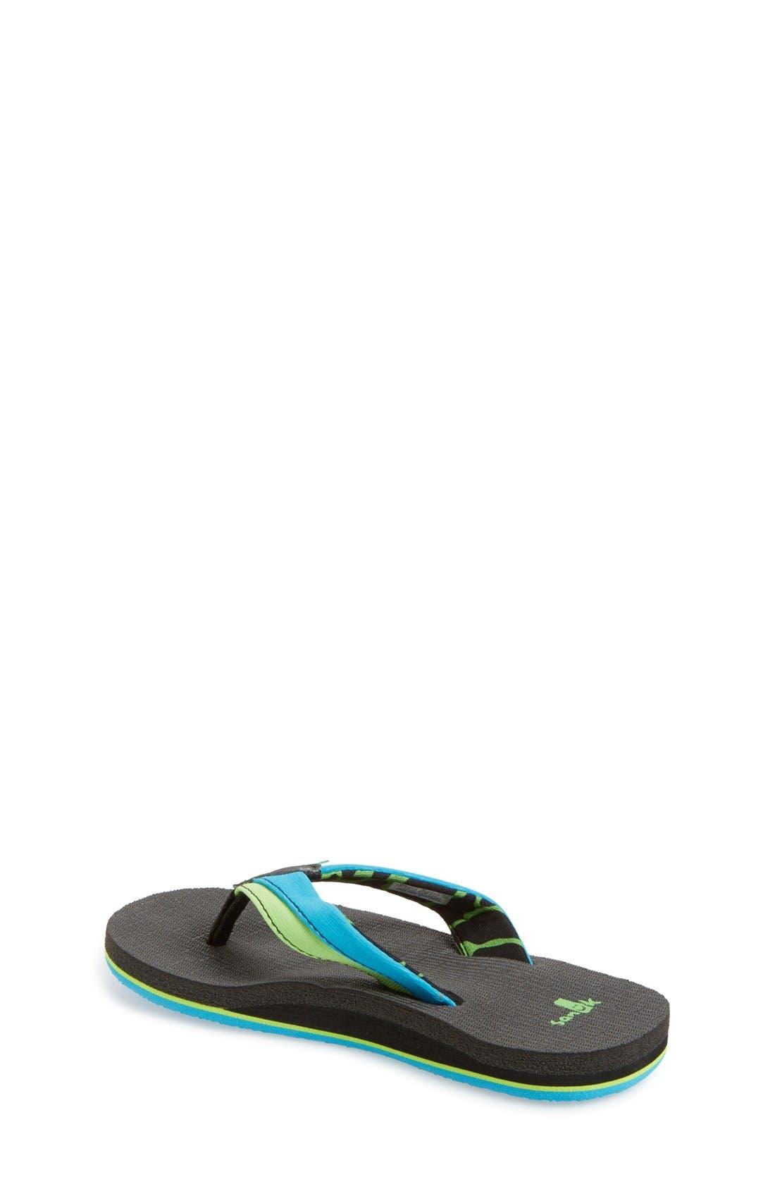 'Rootbeer Cozy' Lightweight Flip Flop Sandal,                             Alternate thumbnail 21, color,