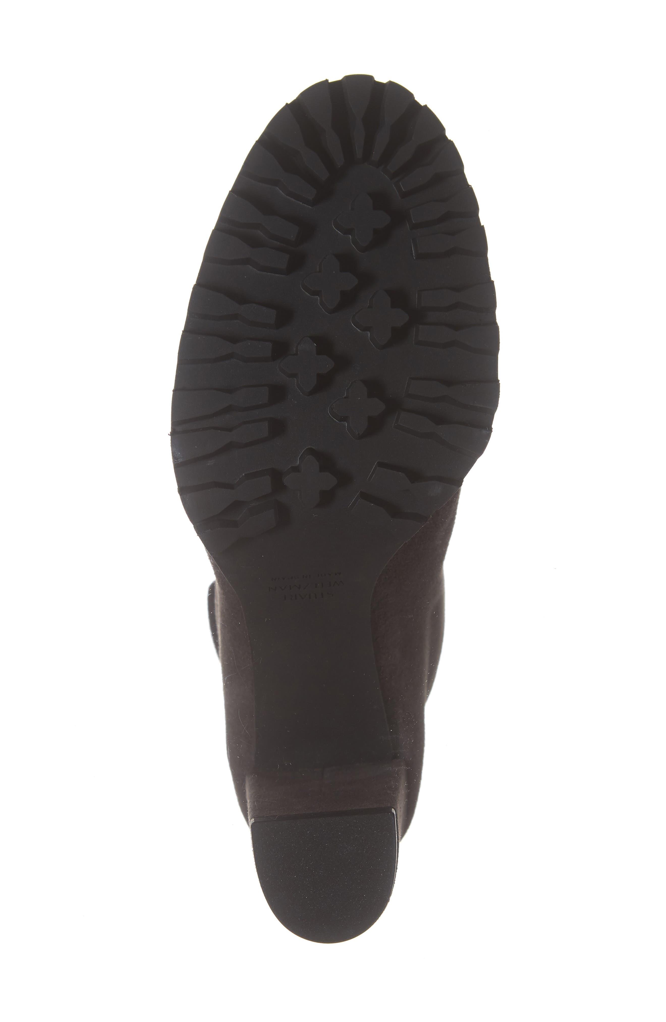 Shakelton Lace-Up Boot,                             Alternate thumbnail 6, color,                             ASPHALT SUEDE