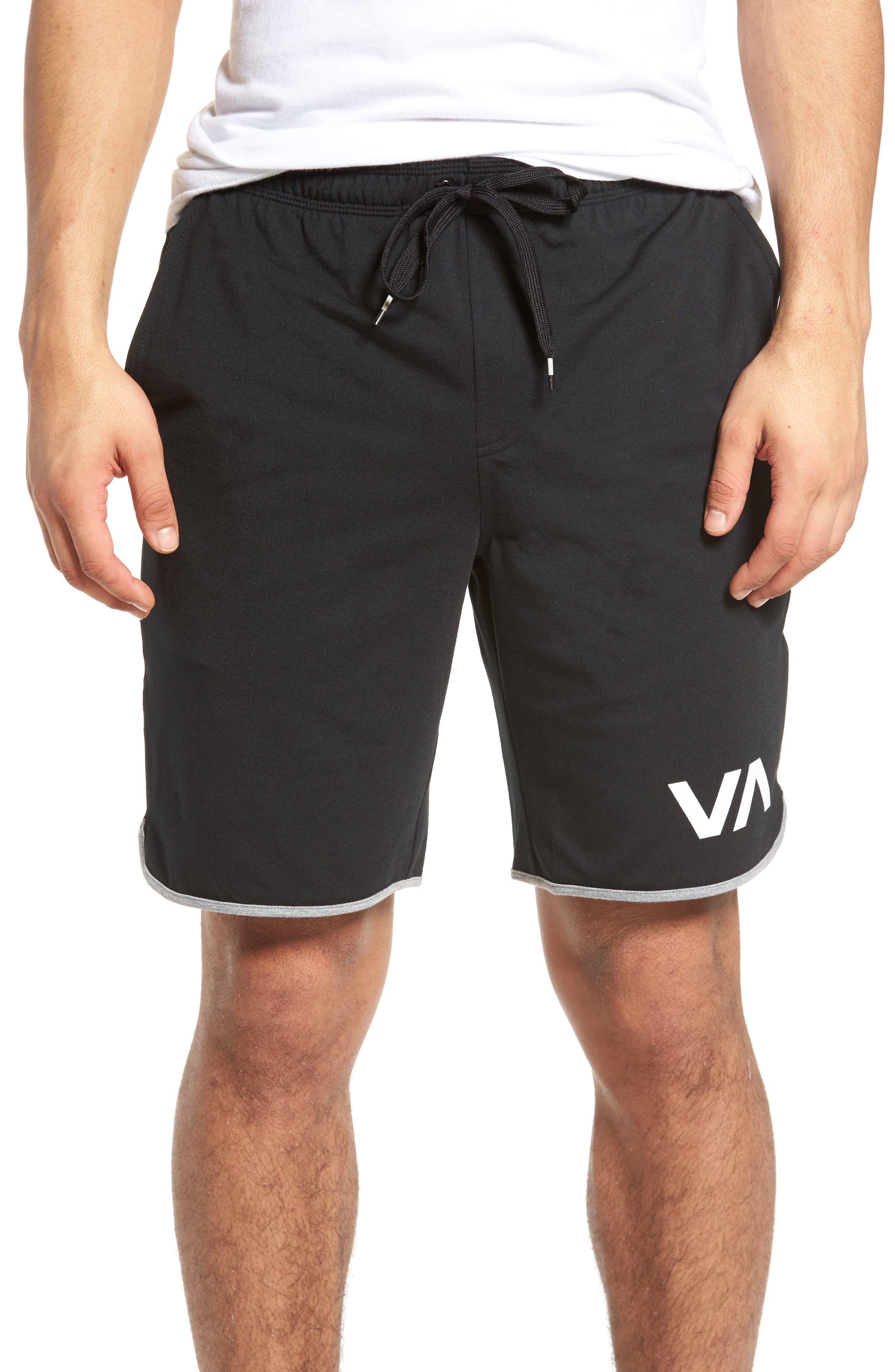 VA Sport II Shorts,                             Main thumbnail 1, color,                             BLACK