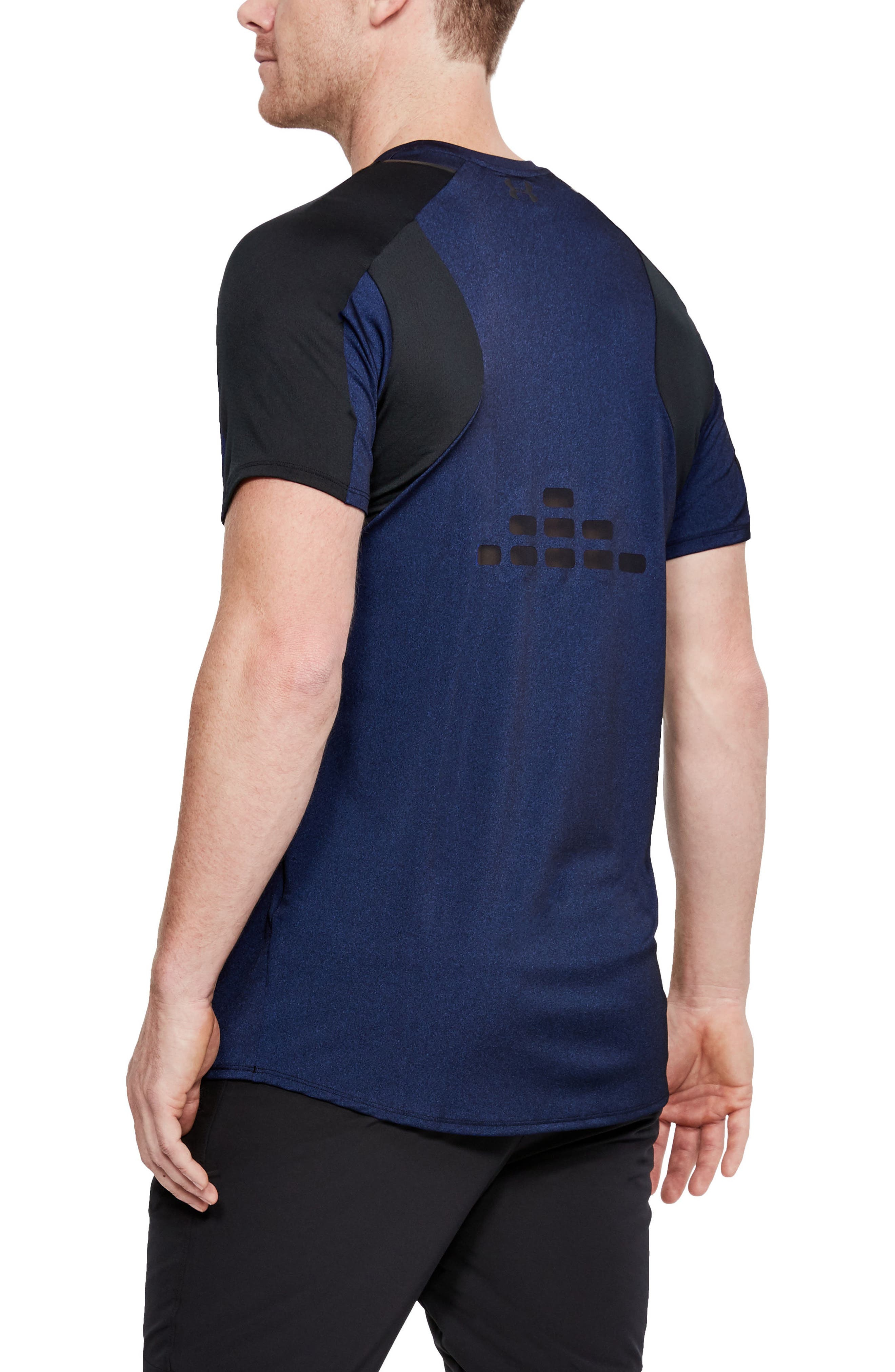 Perpetual Fitted Shirt,                             Alternate thumbnail 2, color,                             FORMATION BLUE/ BLACK