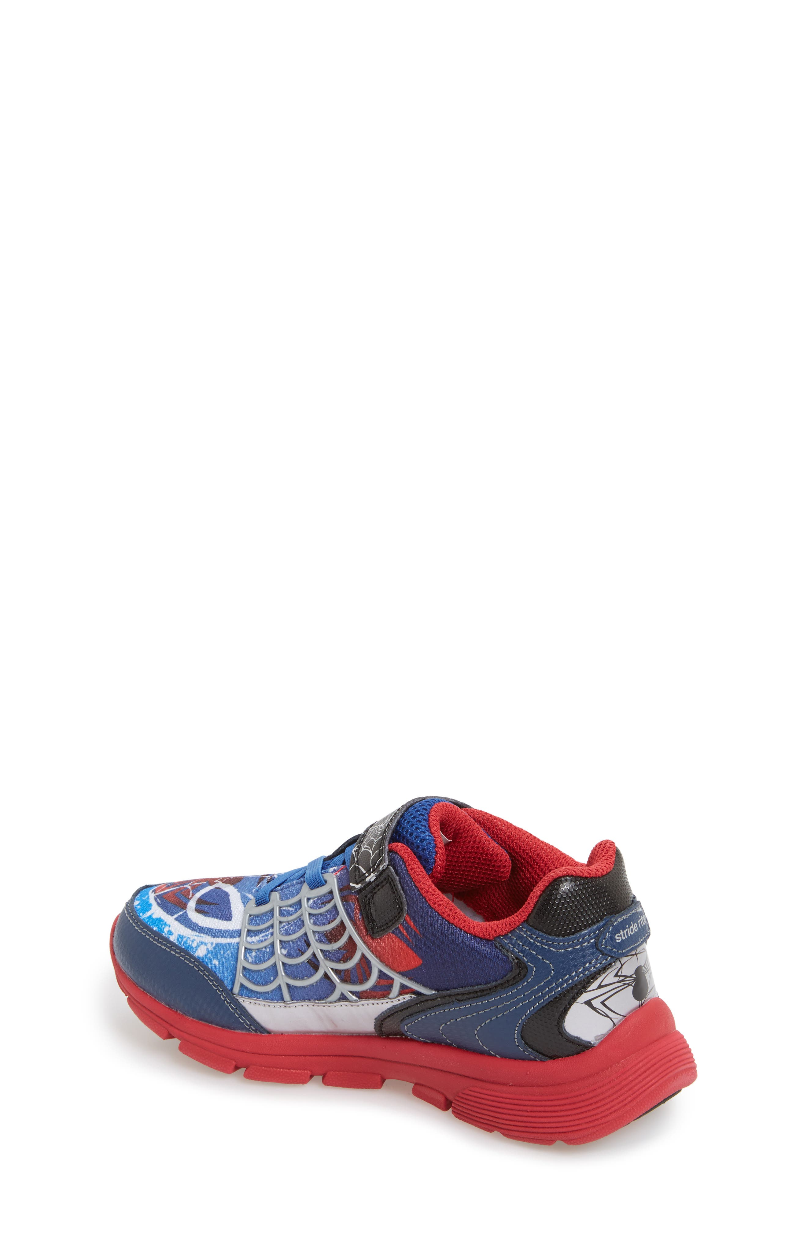 Spidey Sense Light-Up Sneaker,                             Alternate thumbnail 2, color,