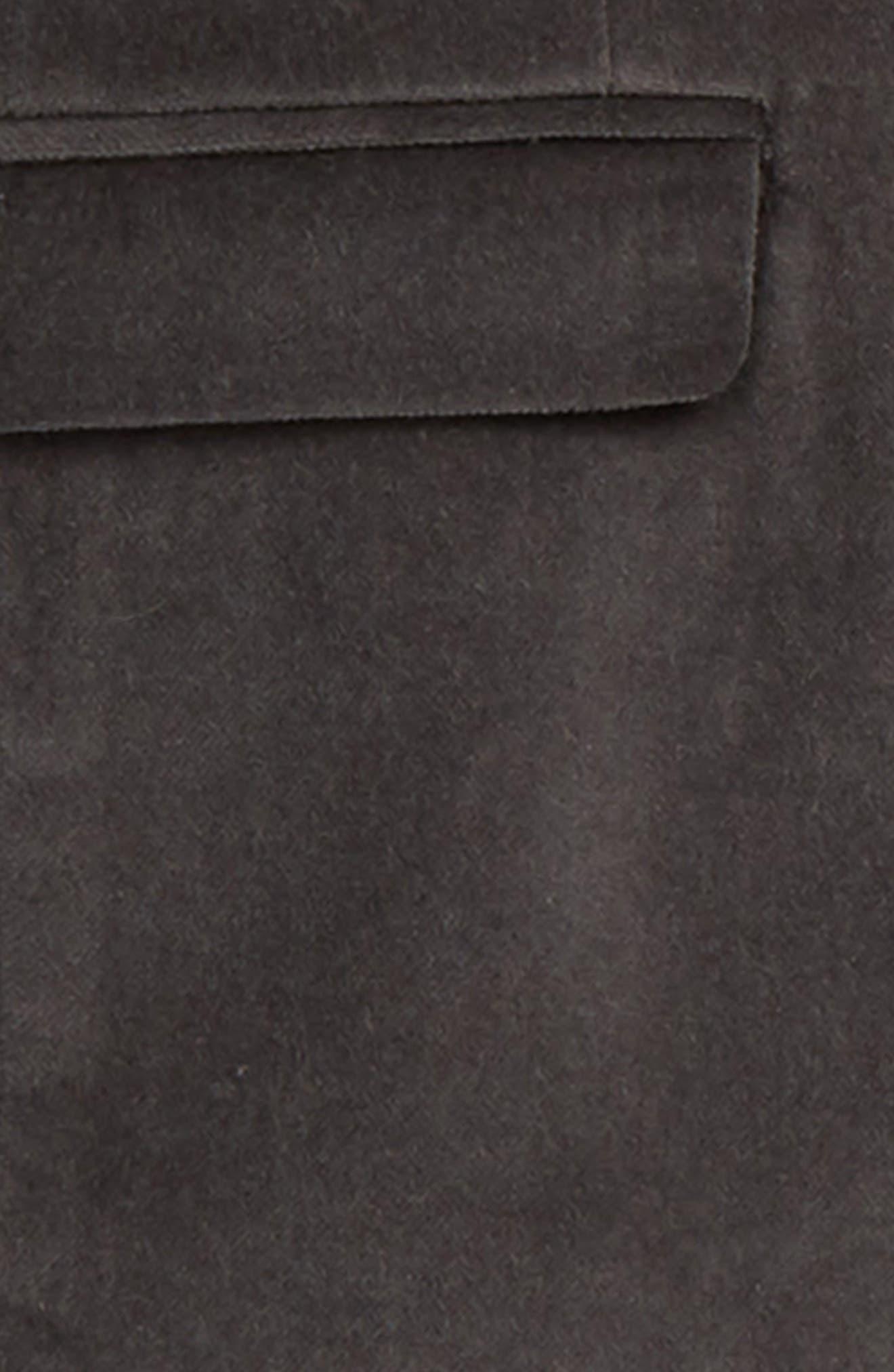 Mod Velvet Suit,                             Alternate thumbnail 2, color,                             VINTAGE BLACK VELVET