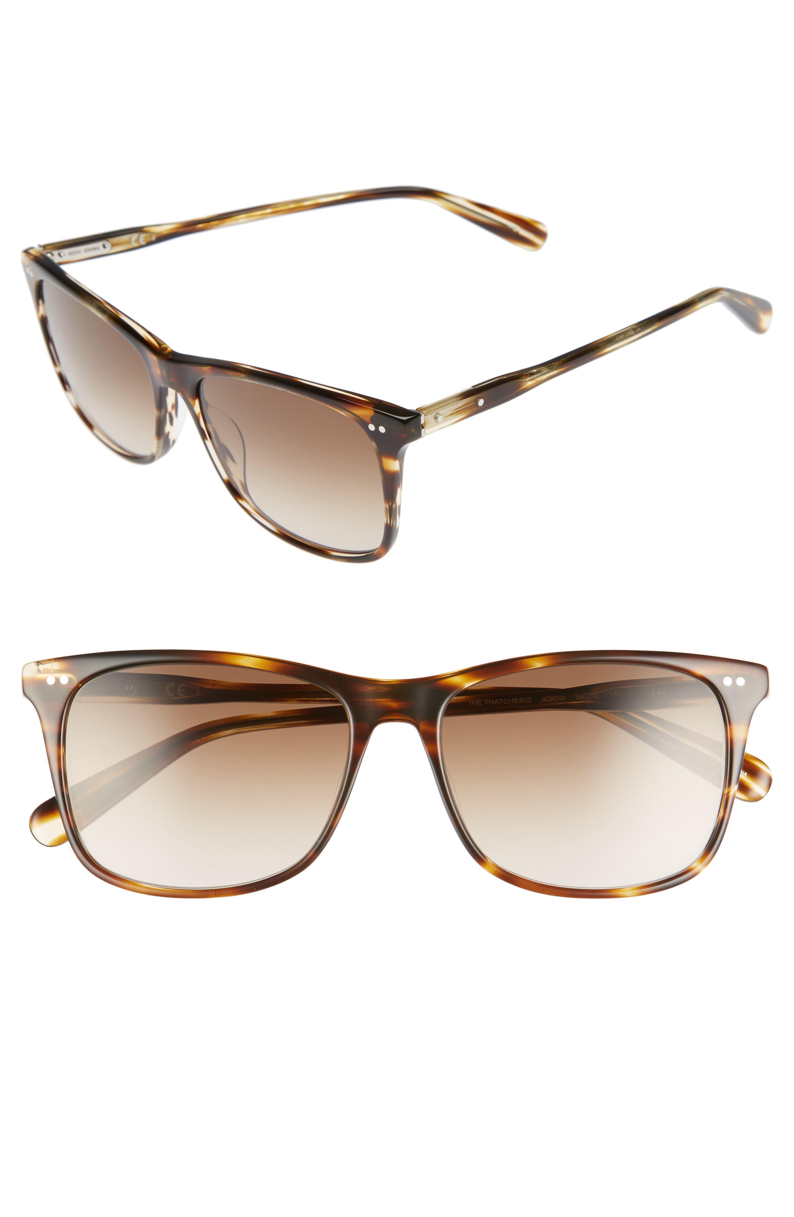 The Thatcher 54mm Gradient Sunglasses,                             Main thumbnail 2, color,