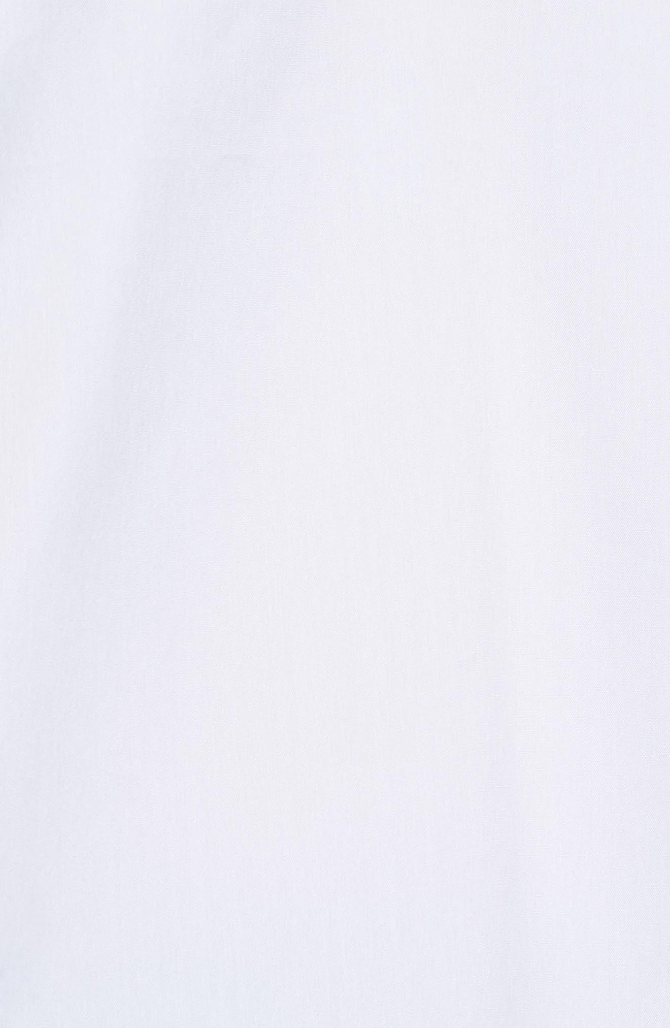 Cinch Sleeve V-Neck Top,                             Alternate thumbnail 9, color,