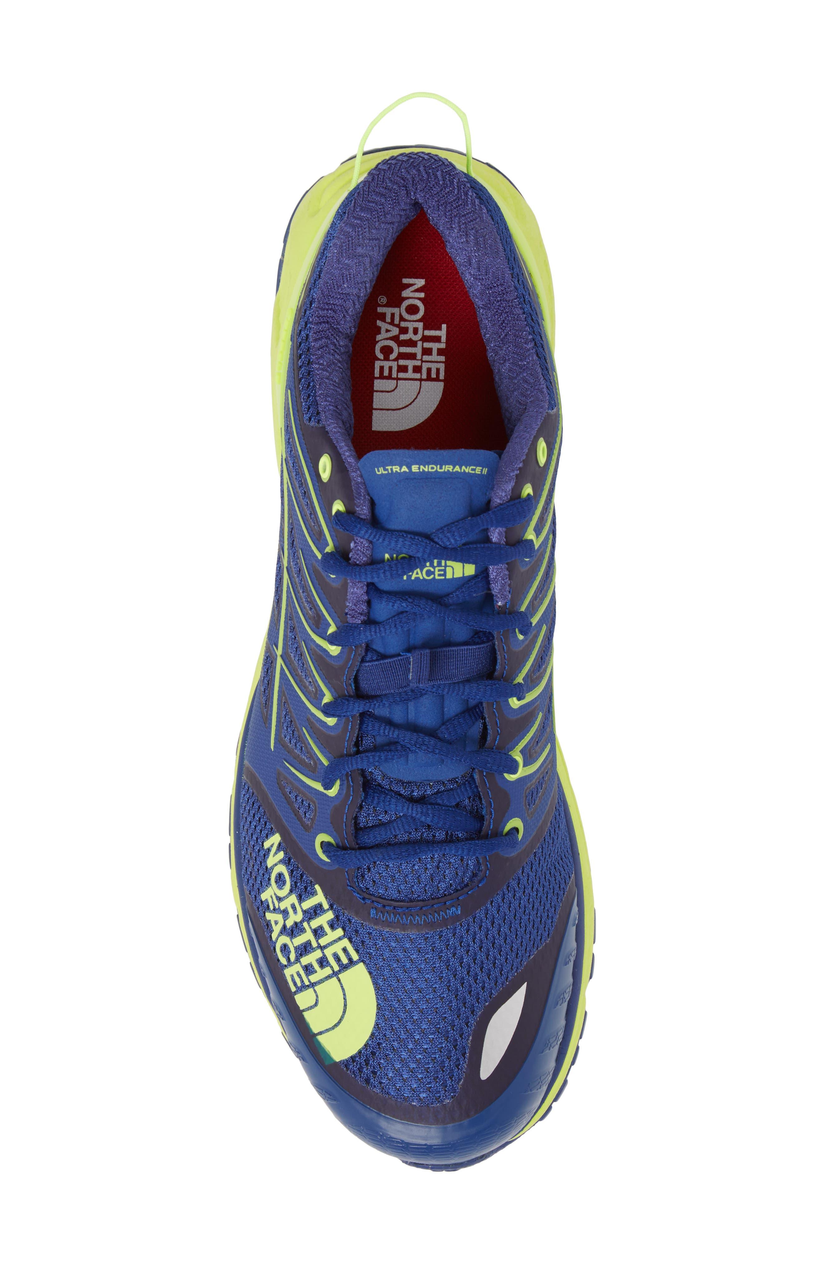 Ultra Endurance II Trail Running Shoe,                             Alternate thumbnail 5, color,                             400
