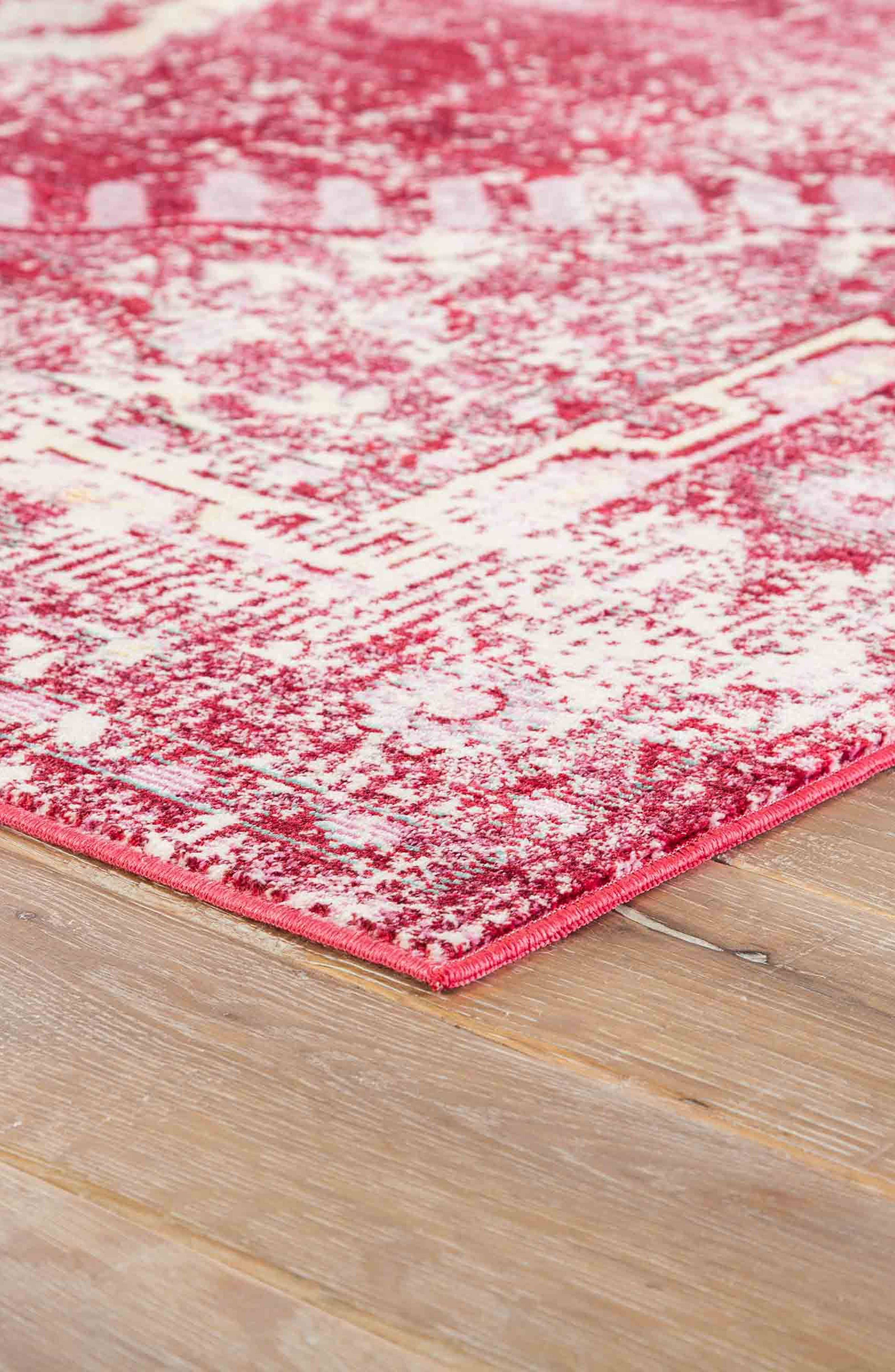Persia Lux Rug,                             Alternate thumbnail 3, color,                             DISTRESSED RED