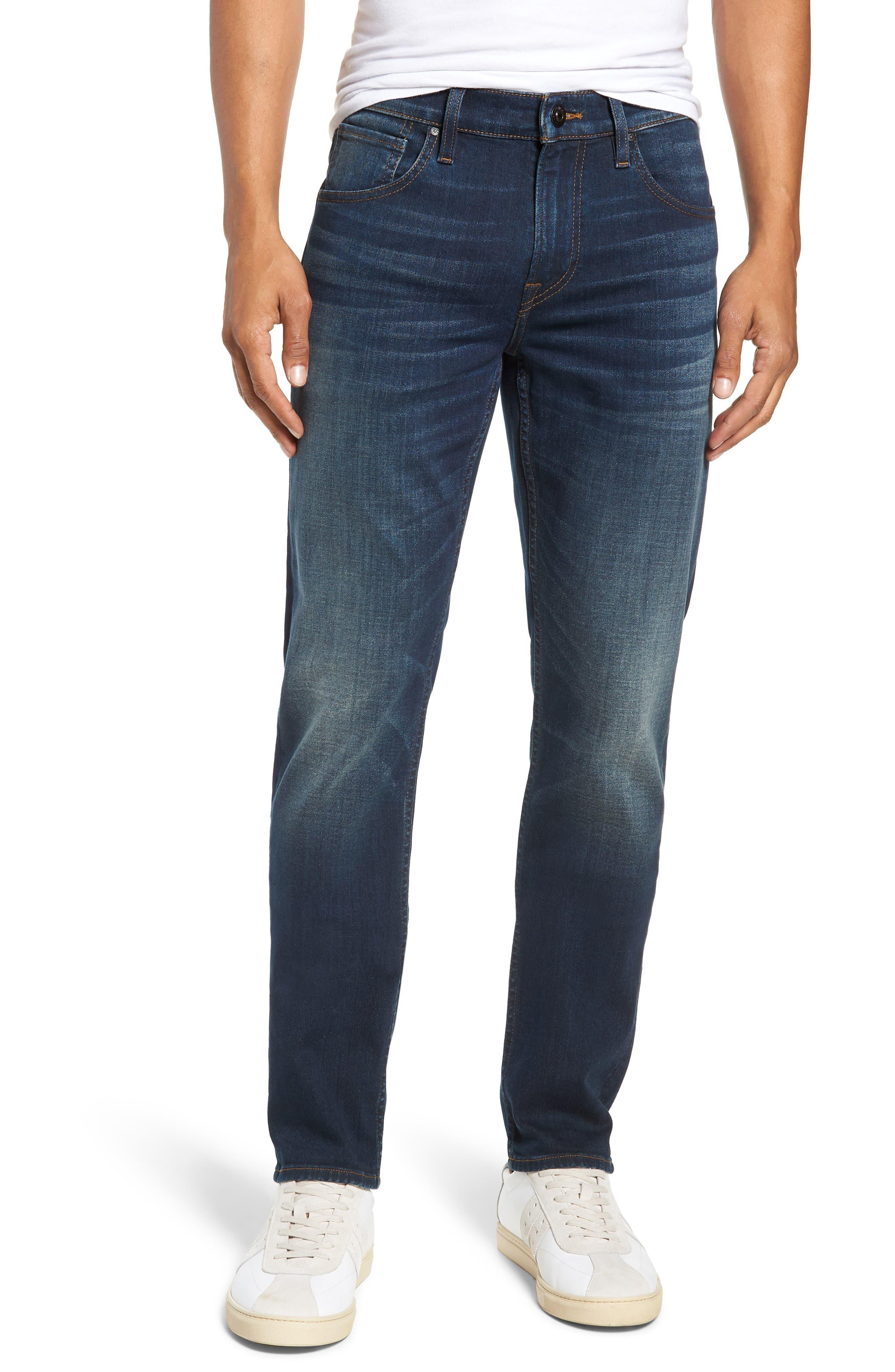 HUDSON Blake Straight Slim Fit Jeans In Norwood