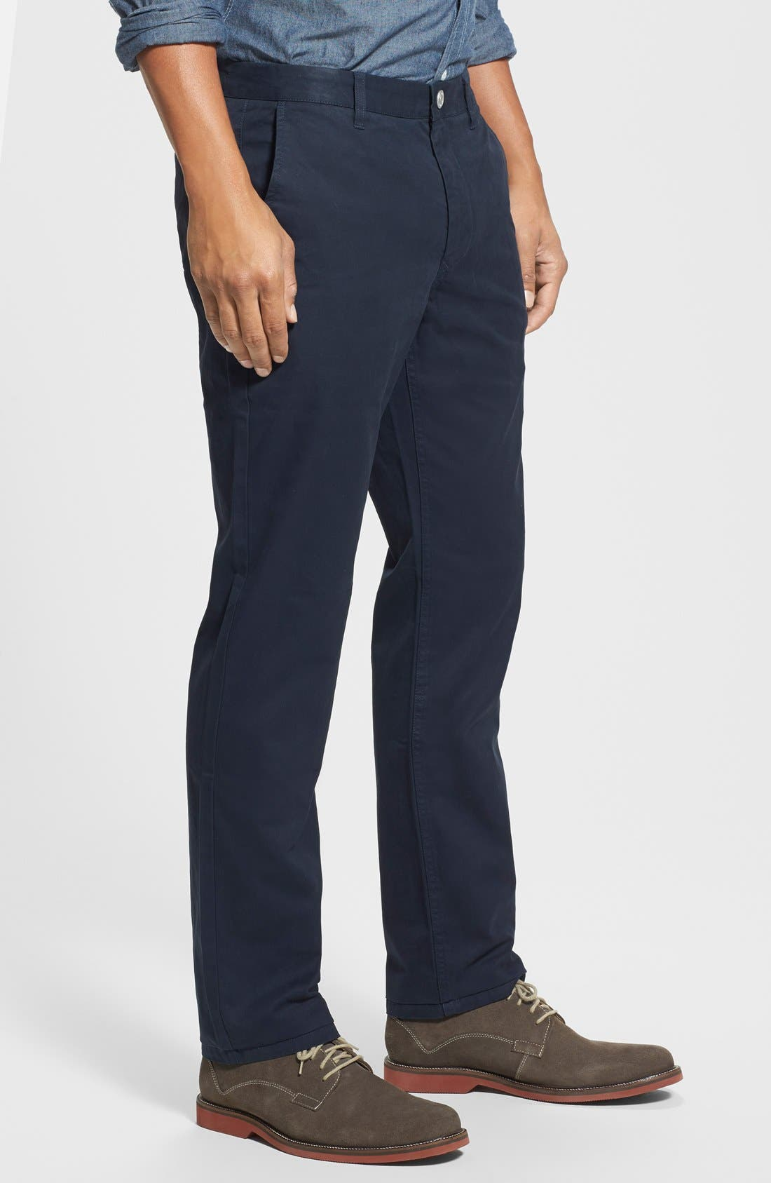 Slim Fit Washed Chinos,                             Alternate thumbnail 2, color,                             400