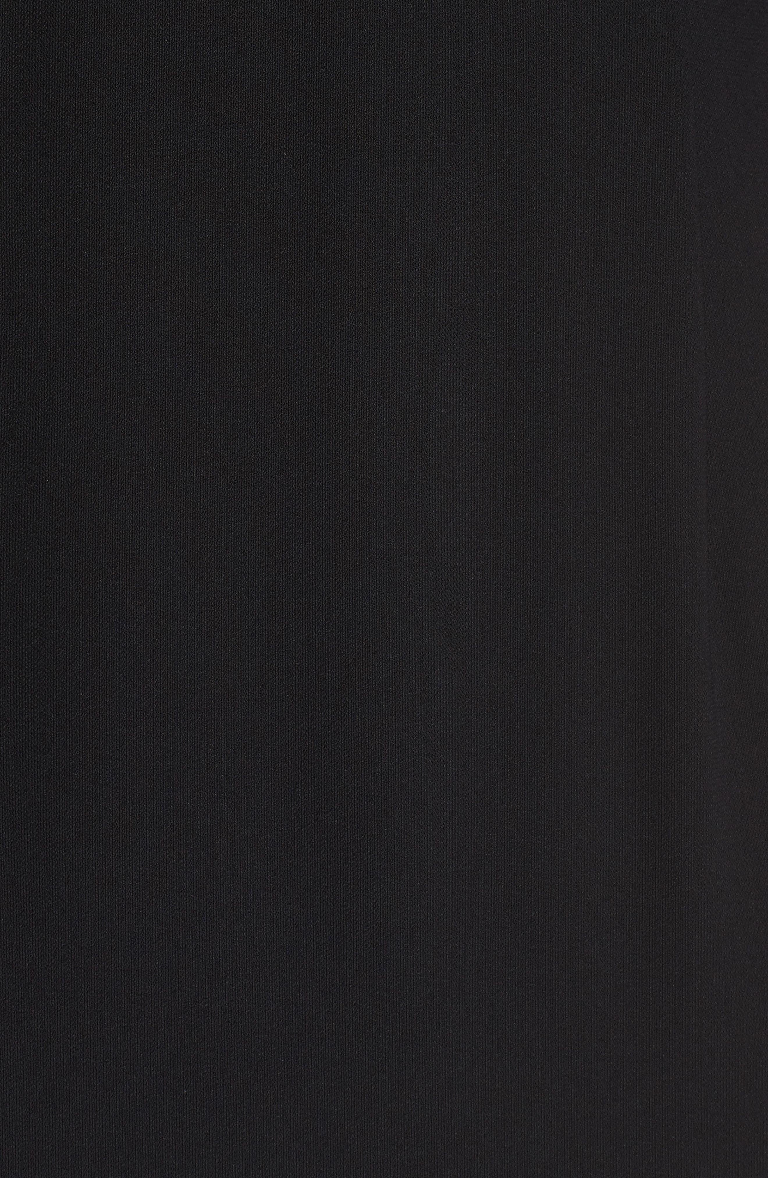 Drape Sleeve Cutout Sheath Dress,                             Alternate thumbnail 5, color,