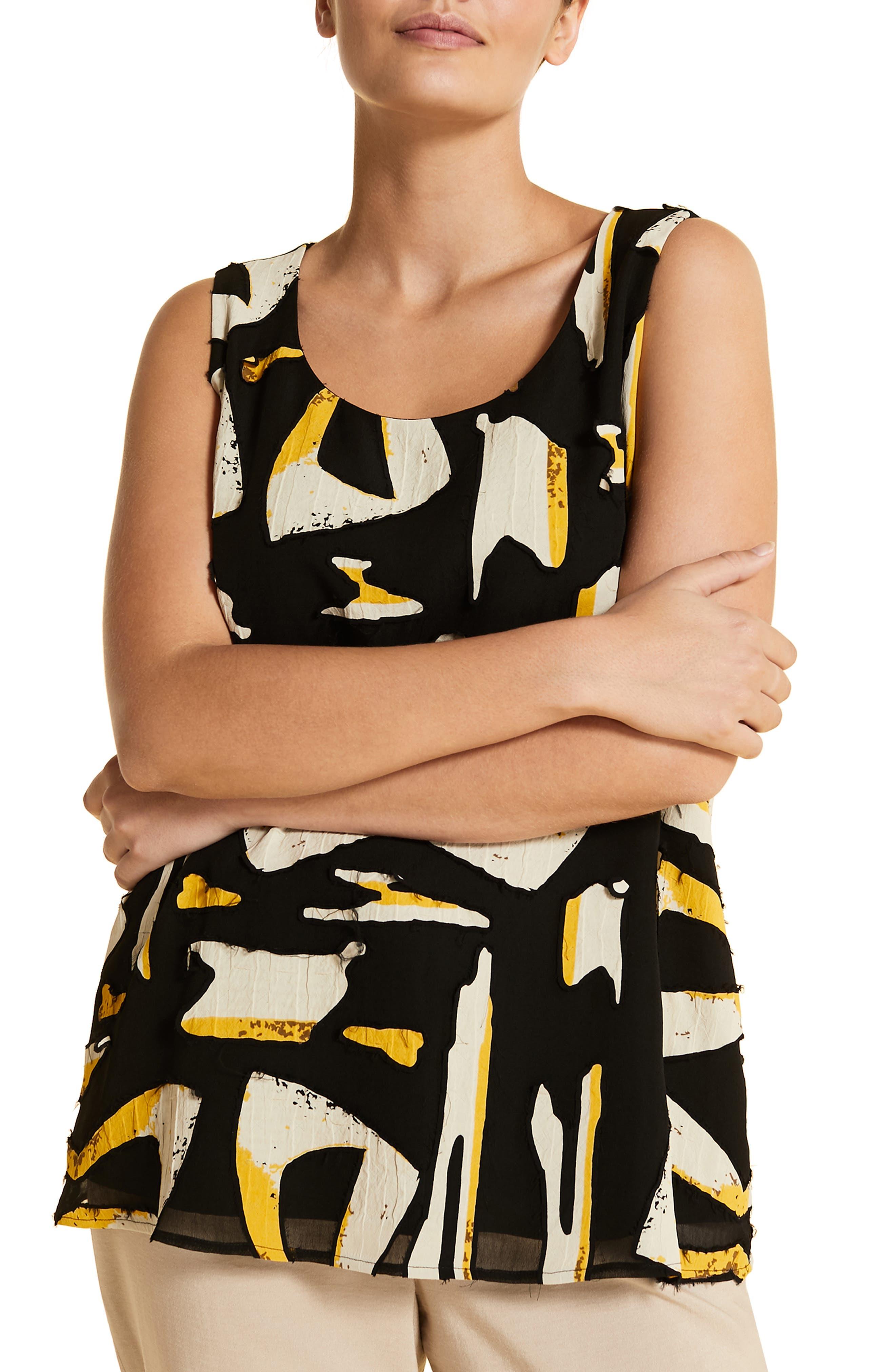 plus size women's marina rinaldi bilbao sleeveless top