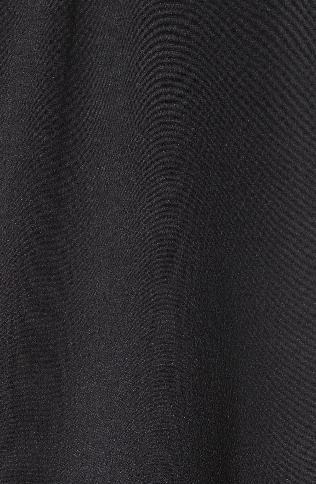 Dylan Silk Shirt,                             Alternate thumbnail 5, color,                             001