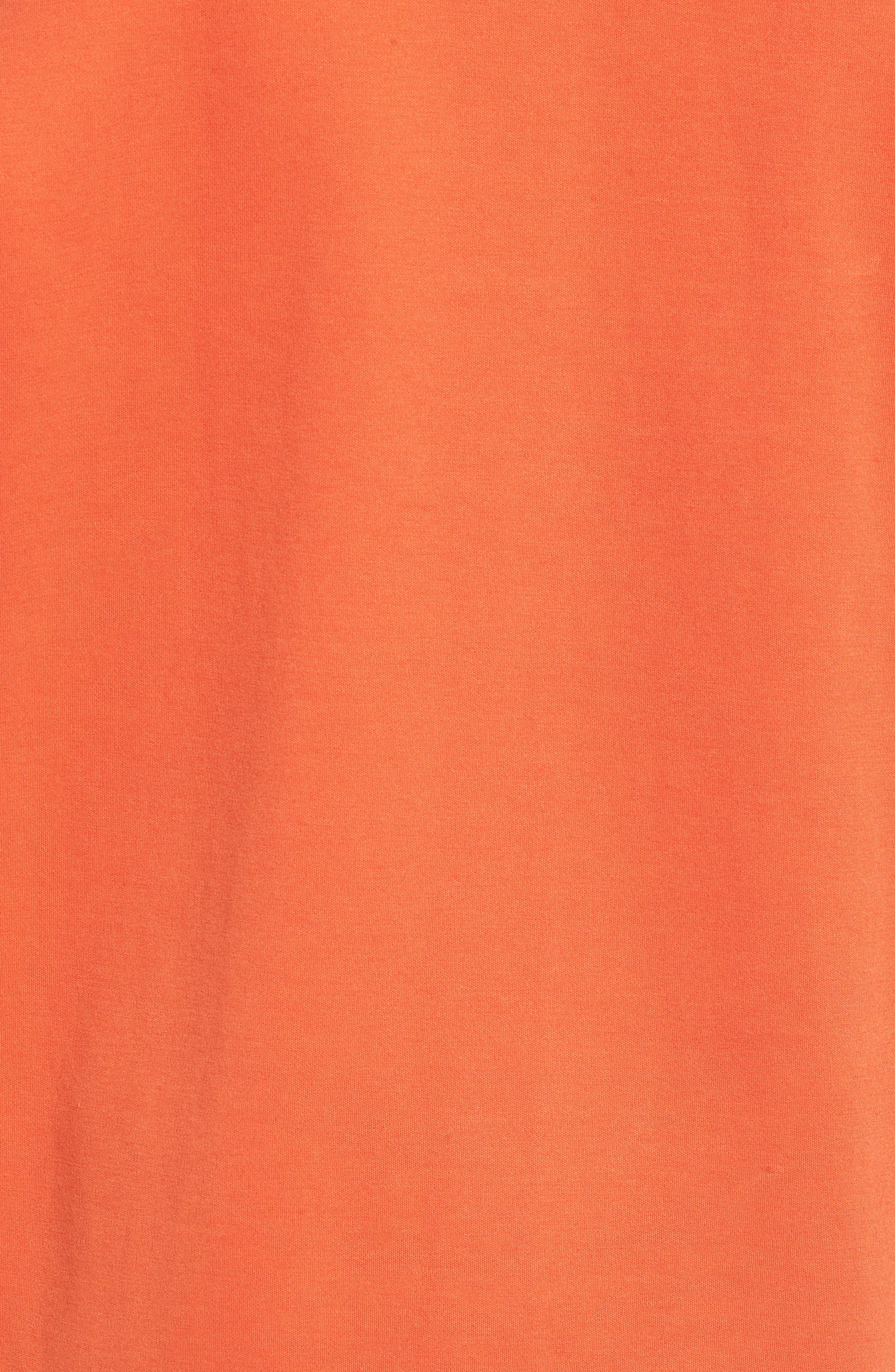 X Big Sean T7 Track Jacket,                             Alternate thumbnail 6, color,                             BURNT OCHRE