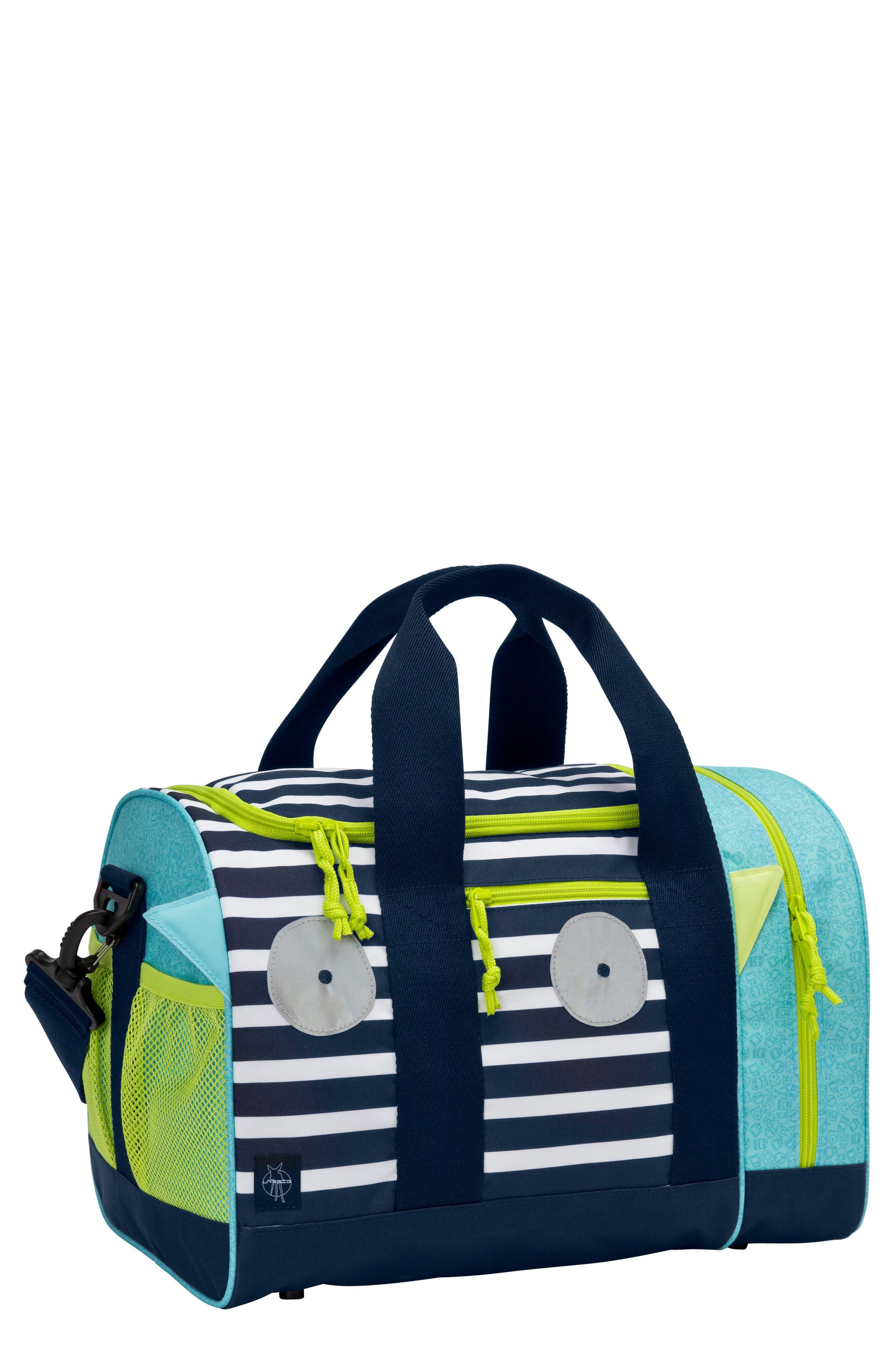 Mini Sports Bag with Glow-in-the-Dark Eyes,                             Main thumbnail 1, color,                             BOUNCING BOB