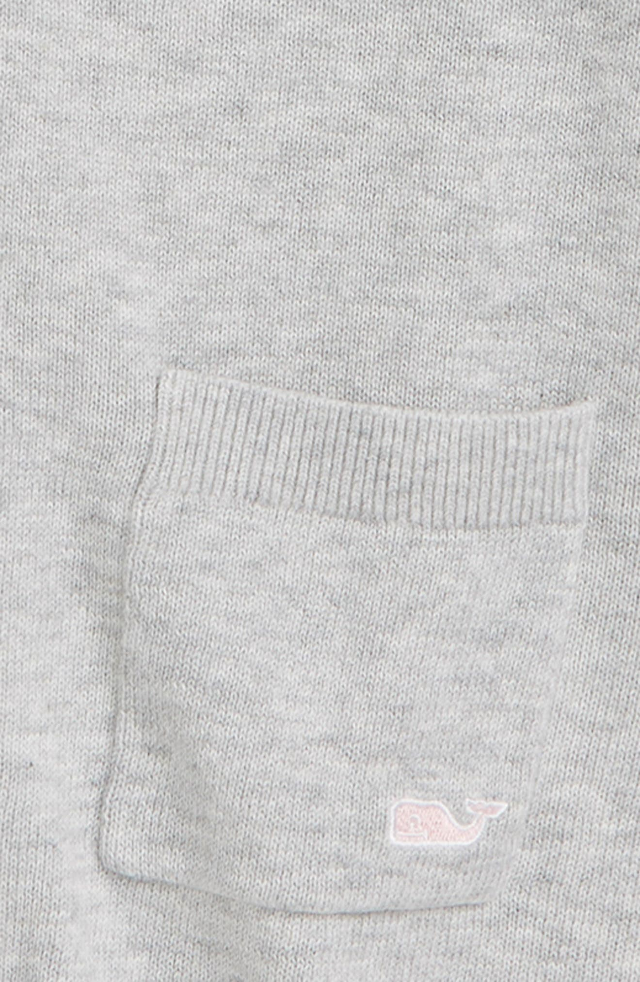 Pocket Cardigan,                             Alternate thumbnail 2, color,                             MEDIUM HEATHER GRAY