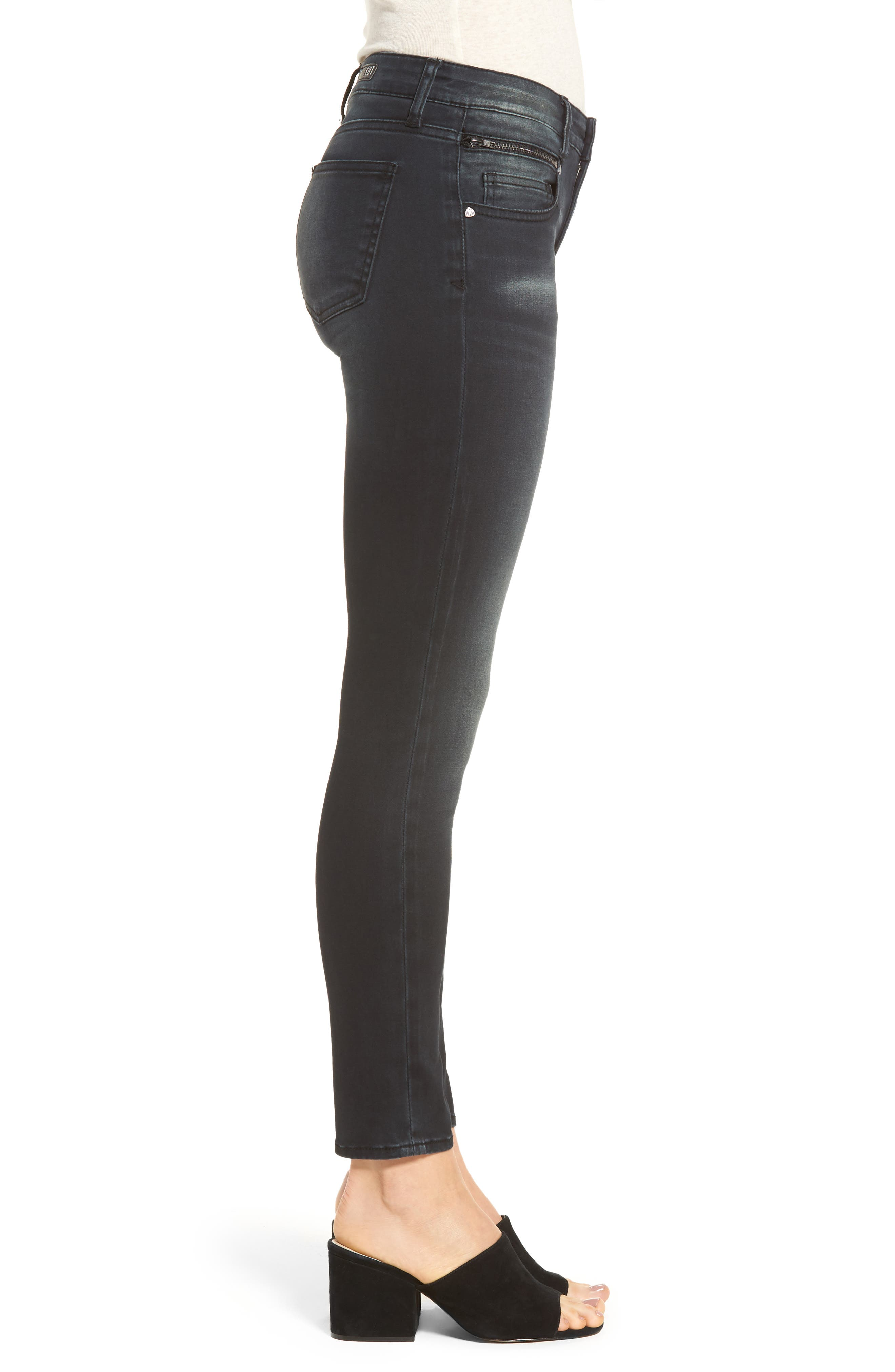 Reese Skinny Ankle Jeans,                             Alternate thumbnail 3, color,                             431