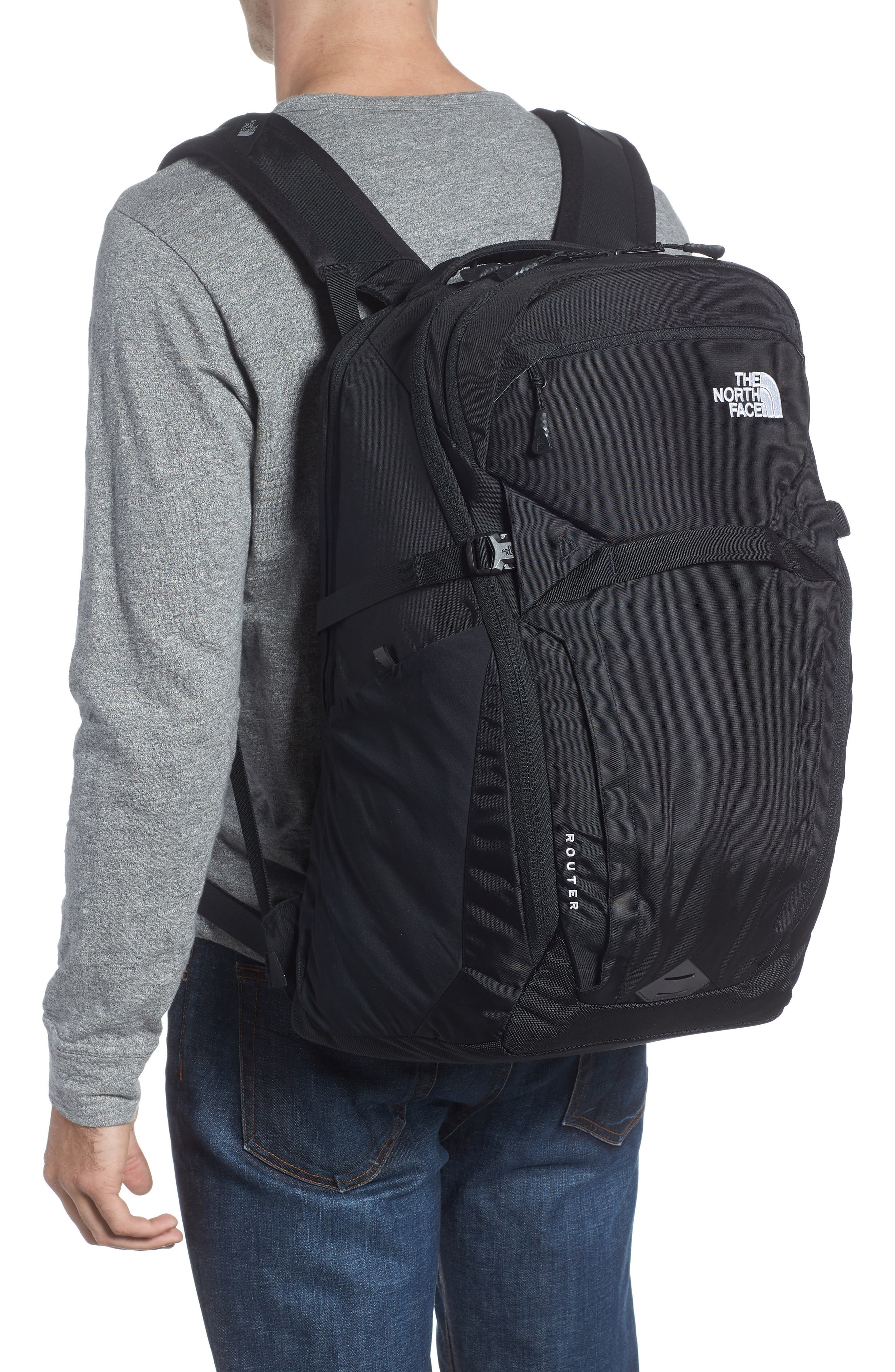 Router Backpack,                             Alternate thumbnail 2, color,                             001