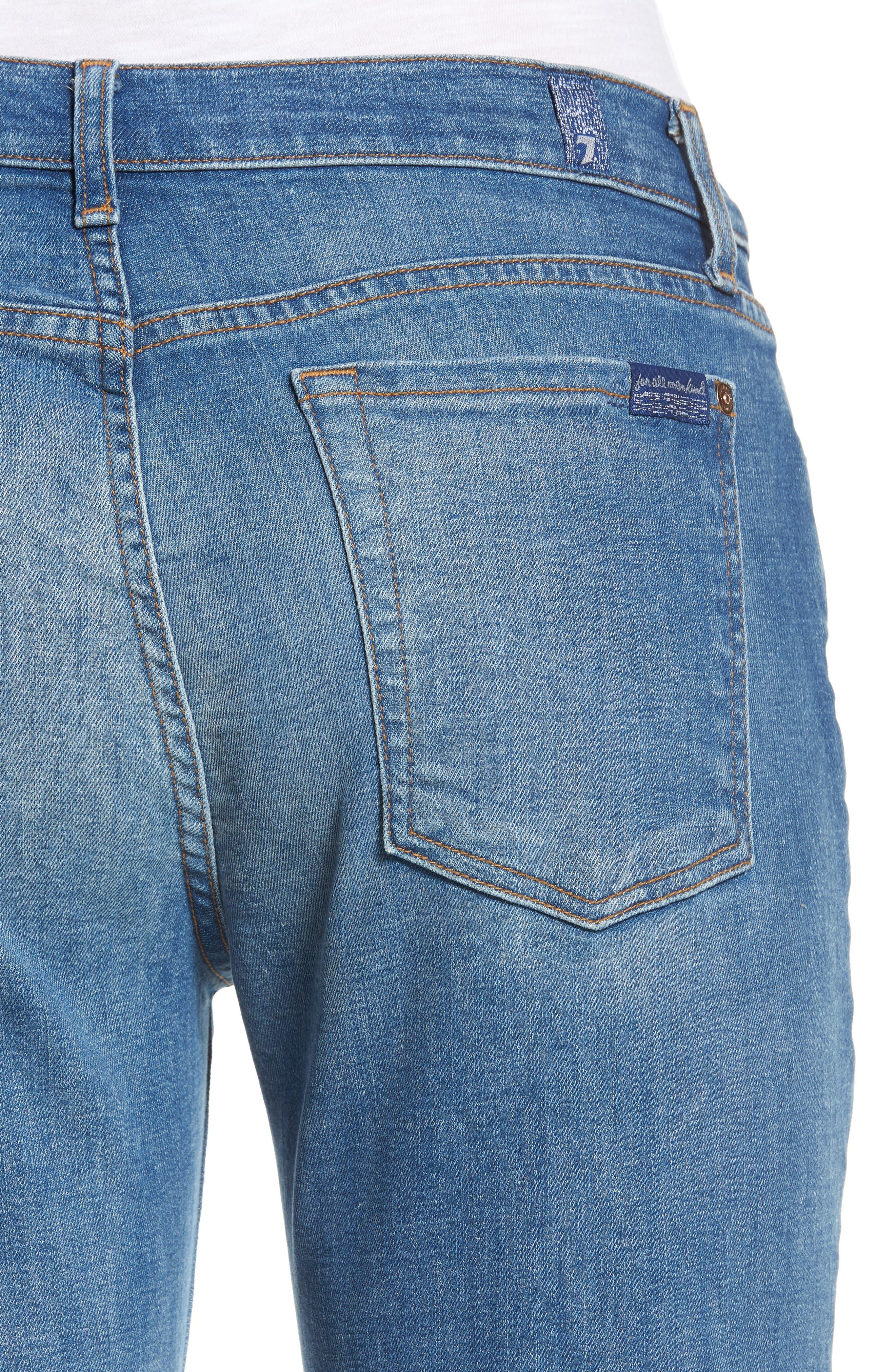 Josefina Ripped Boyfriend Jeans,                             Alternate thumbnail 4, color,                             400