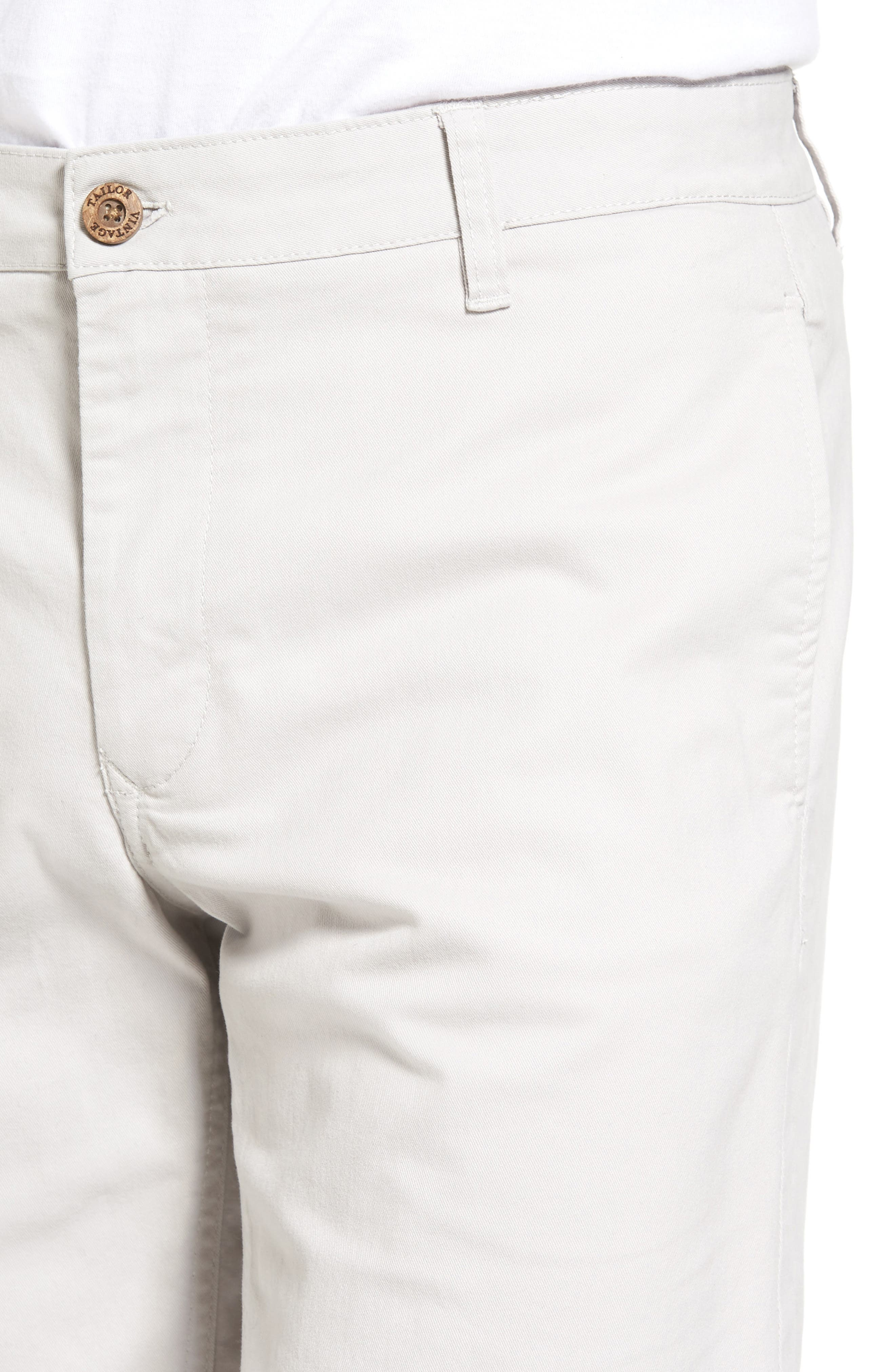 Stretch Twill Walking Shorts,                             Alternate thumbnail 4, color,                             050