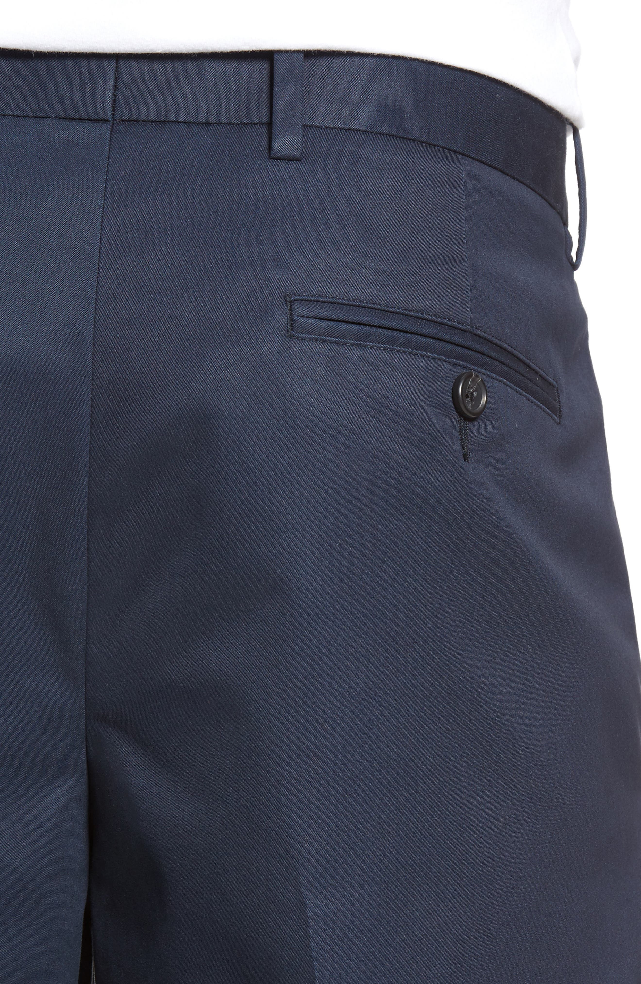 Pleated Supima<sup>®</sup> Cotton Shorts,                             Alternate thumbnail 20, color,